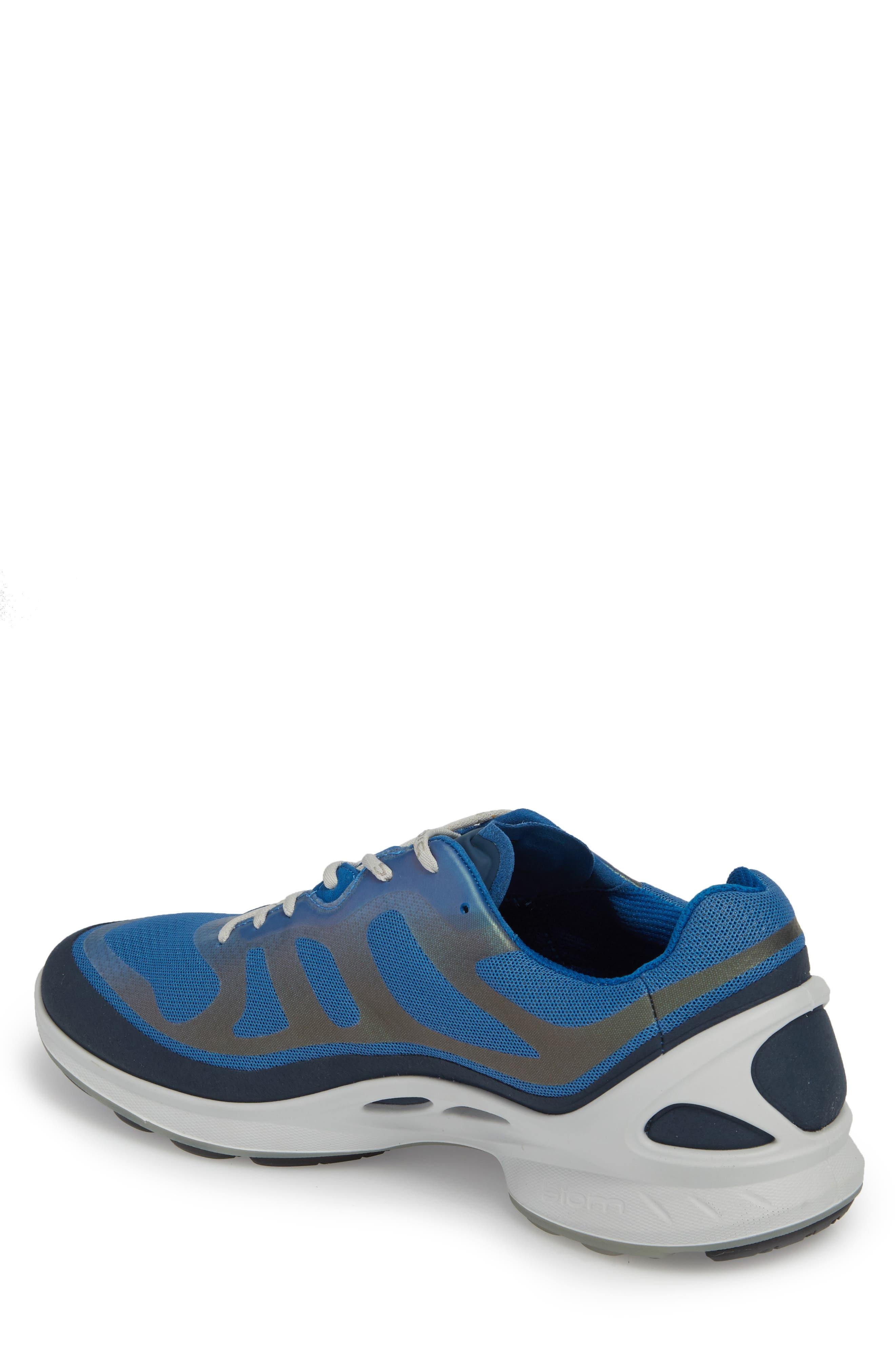 BIOM Fjuel Tie Sneaker,                             Alternate thumbnail 2, color,                             MARINE/ BLUE TEXTILE