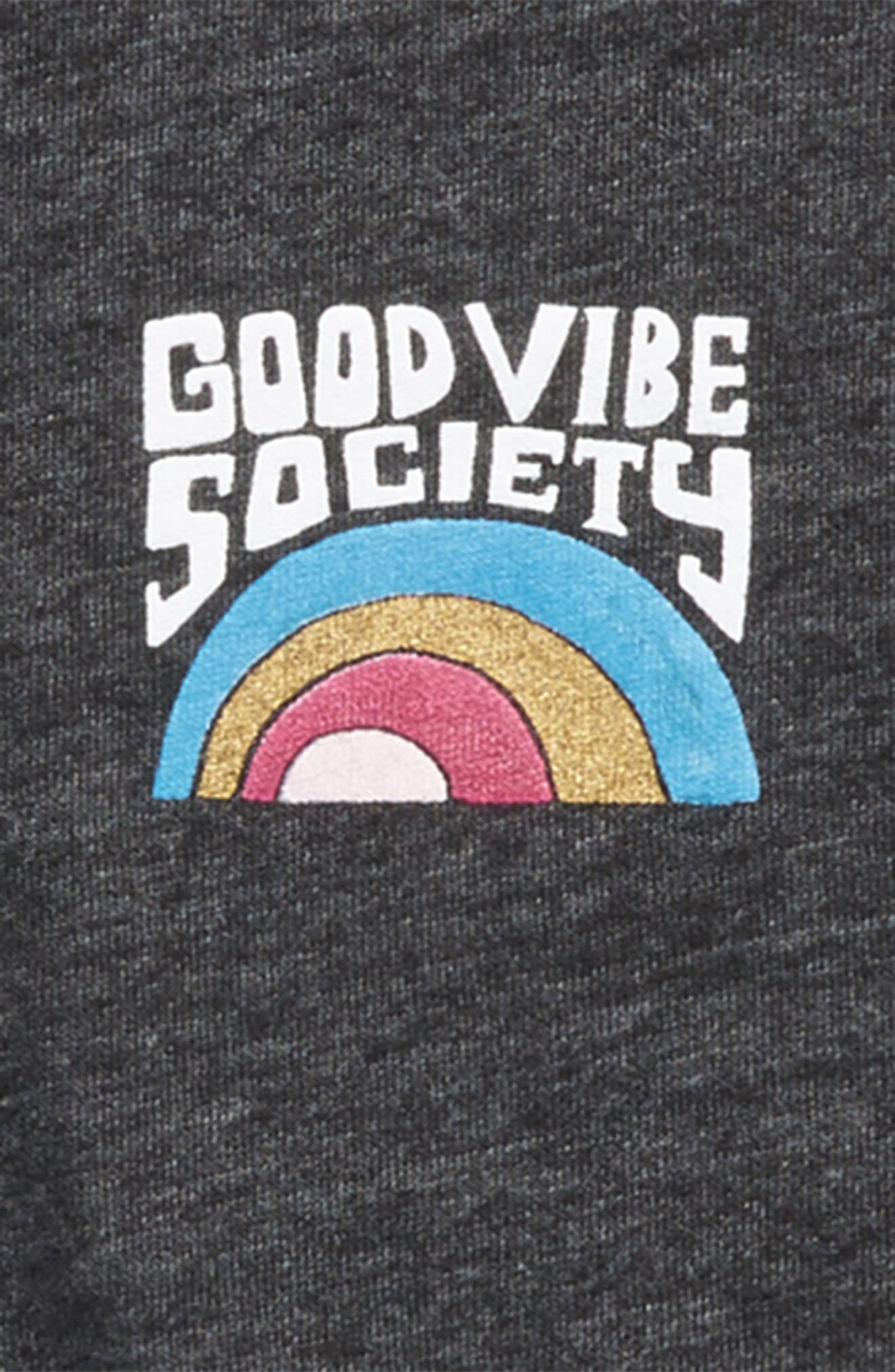 Good Vibes Graphic Tee,                             Alternate thumbnail 2, color,                             003