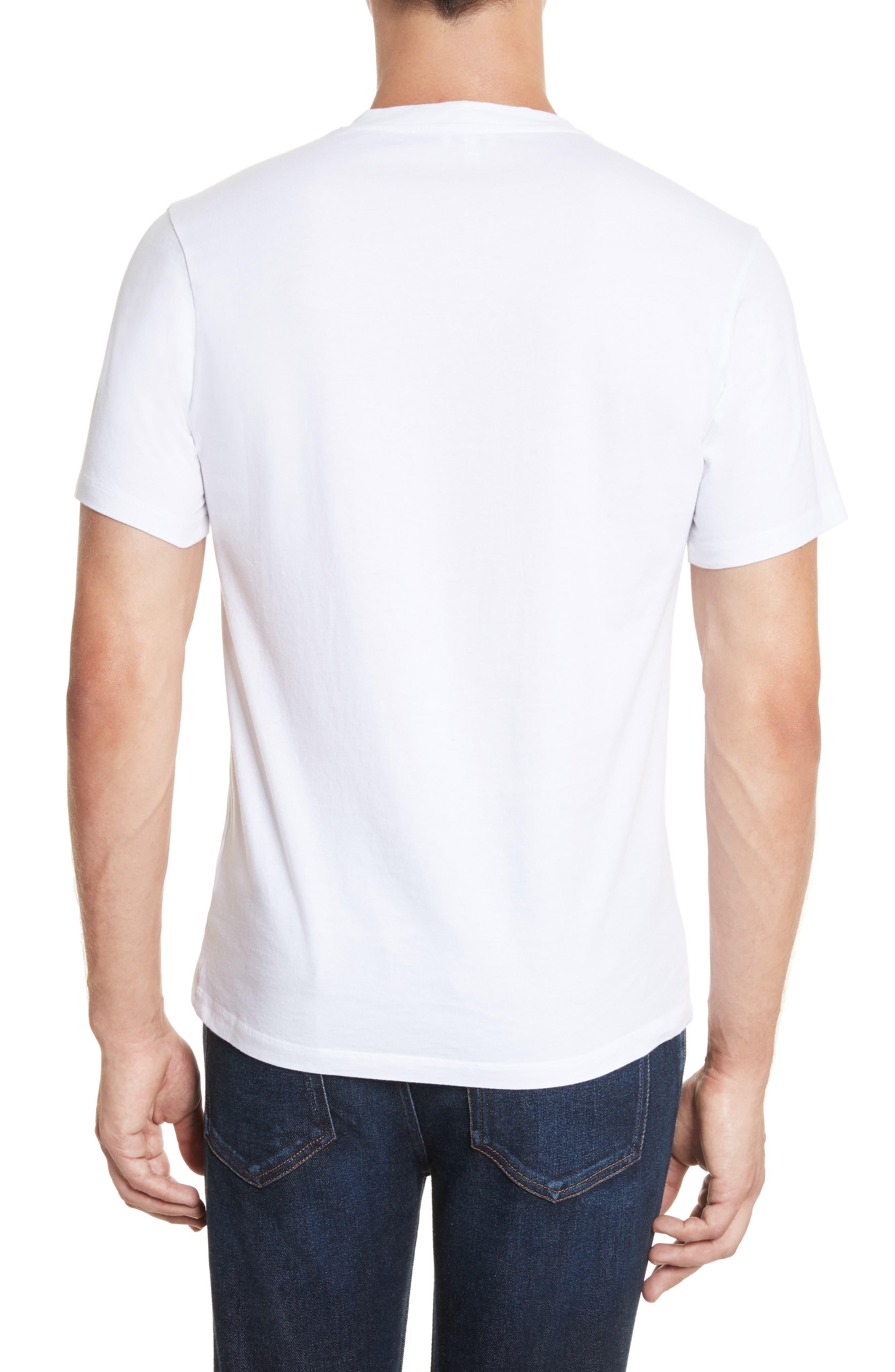 Rainbow Tiger Graphic T-Shirt,                             Alternate thumbnail 2, color,