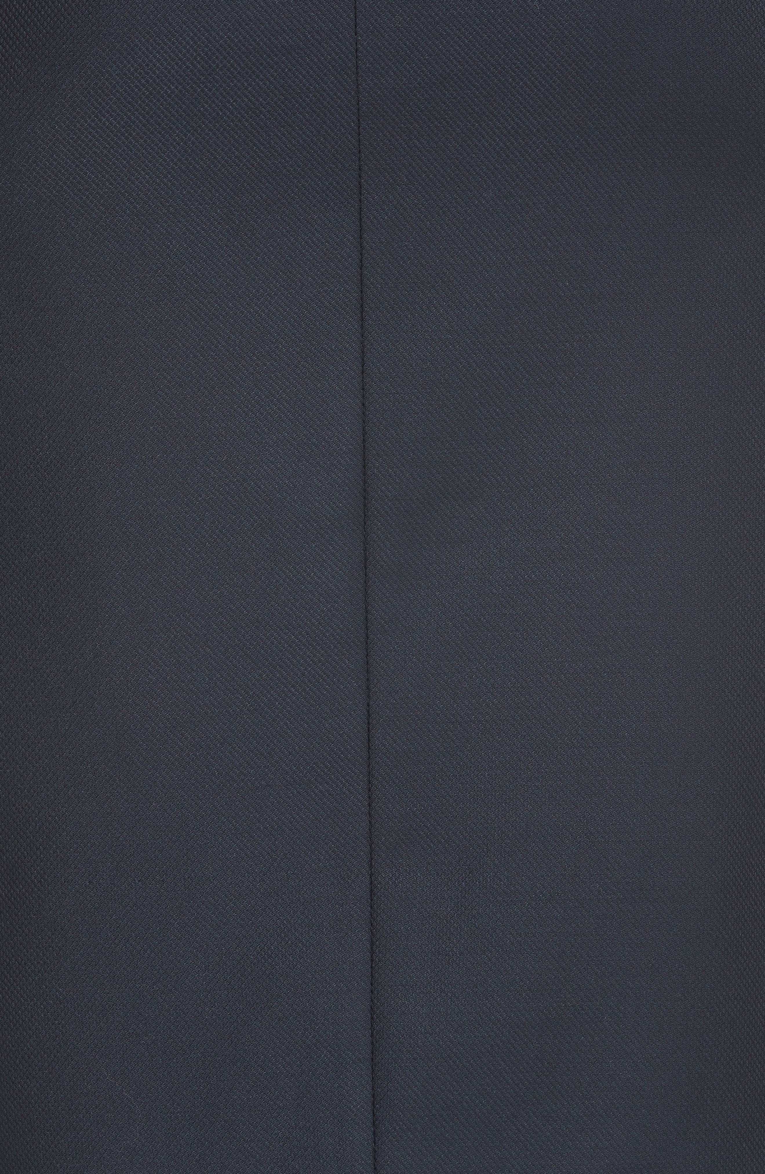 Ted Working Title Rivaas Pencil Skirt,                             Alternate thumbnail 5, color,                             DARK BLUE