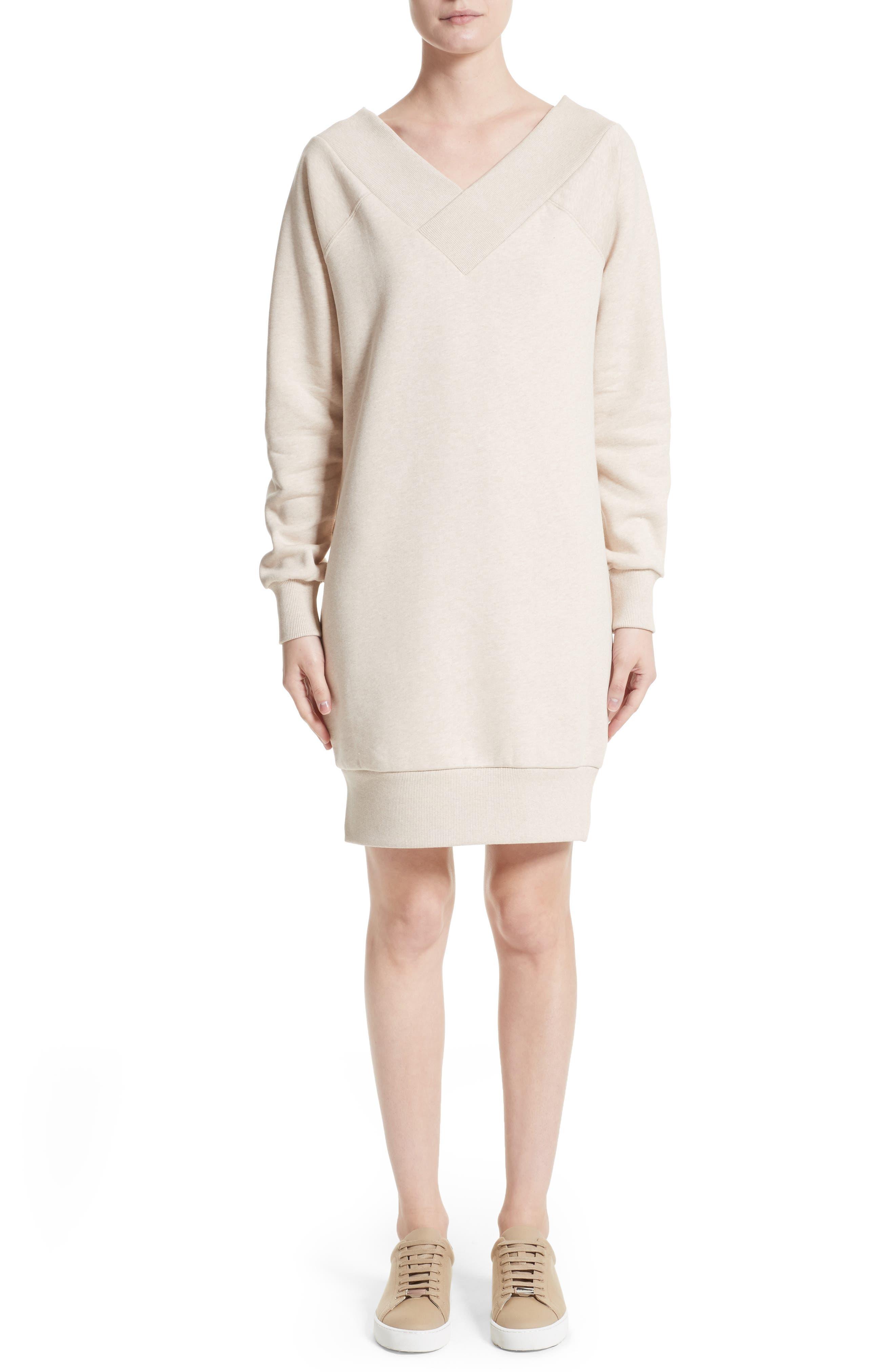 Taro Sweatshirt Dress,                         Main,                         color, 250