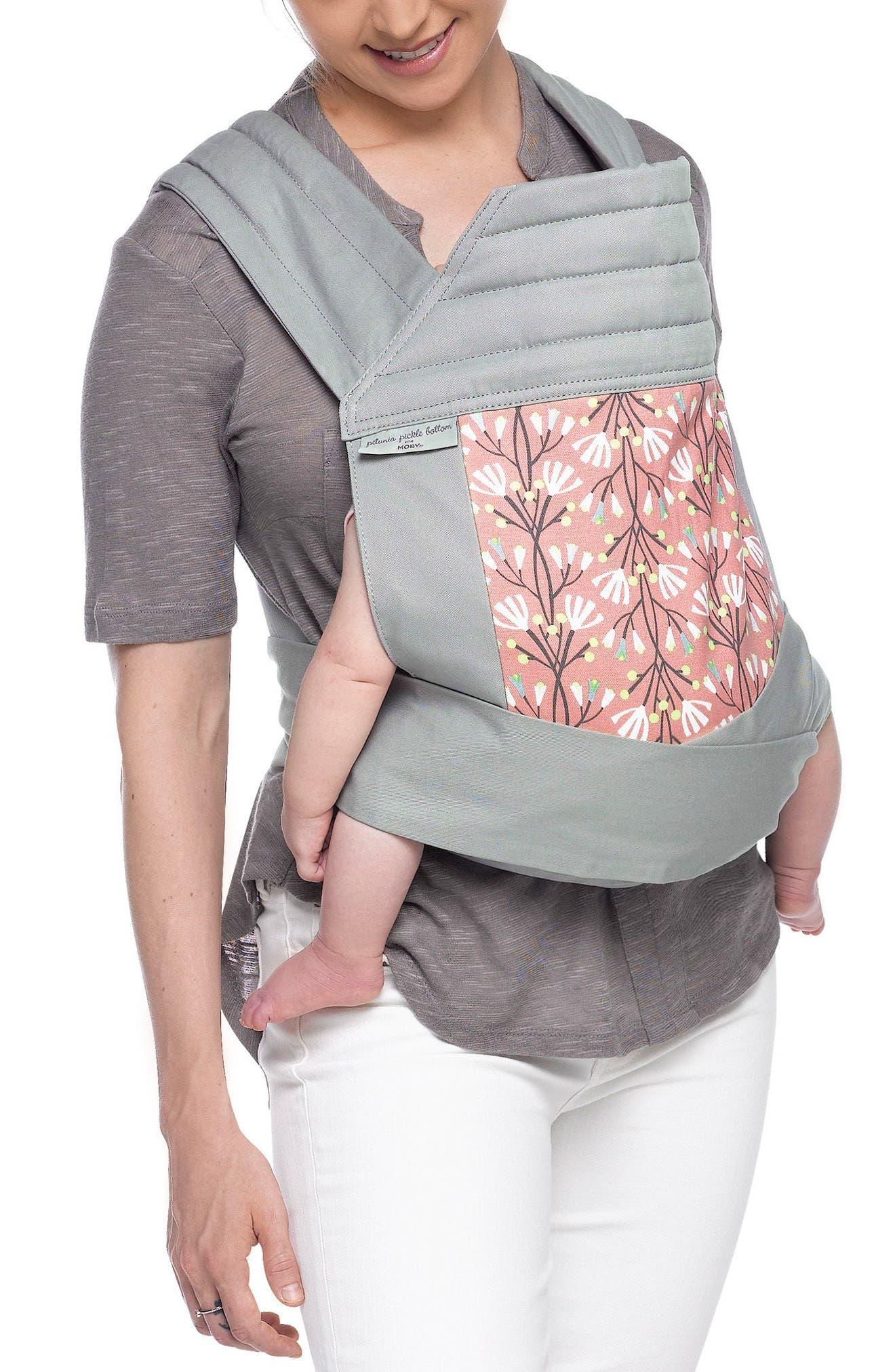 Wrap Double Tie Baby Carrier,                             Main thumbnail 2, color,