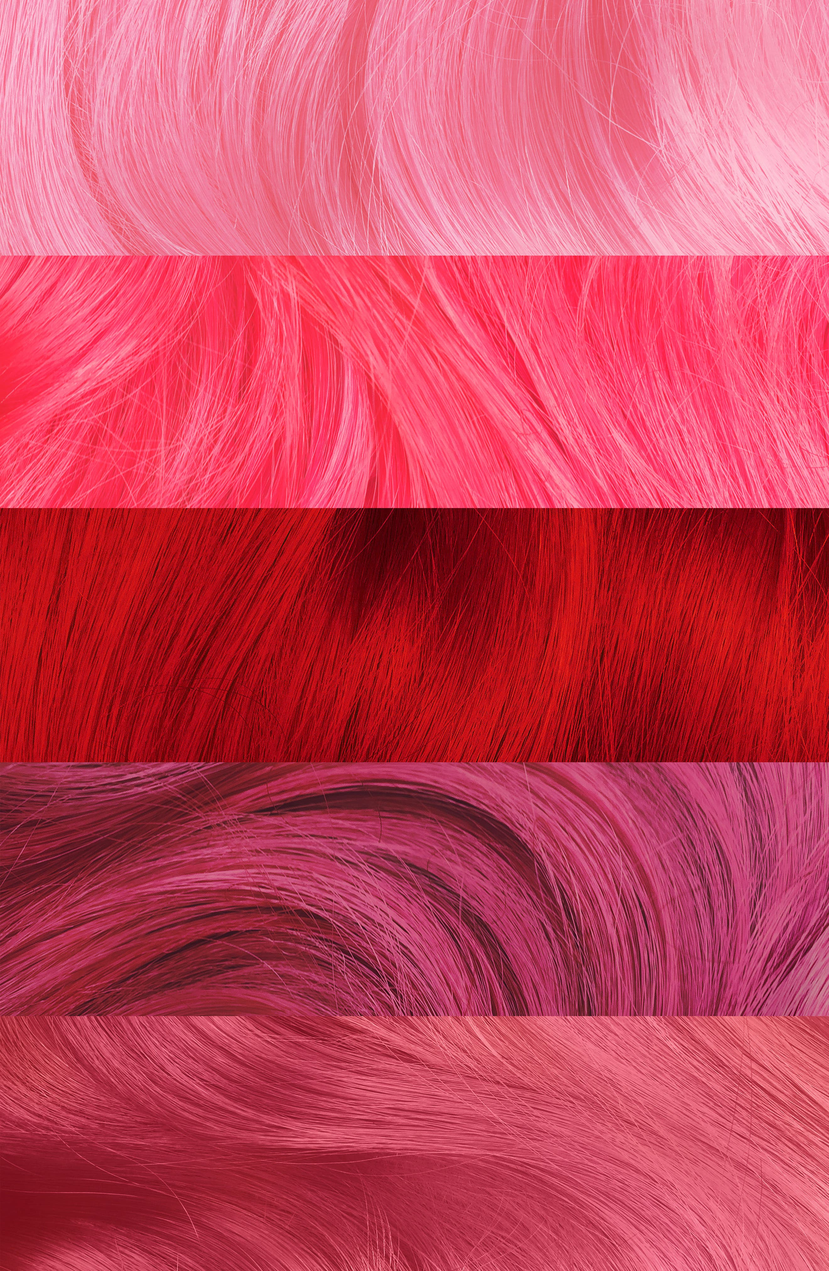 LIME CRIME,                             Coming Up Roses Unicorn Hair Try Me Kit,                             Alternate thumbnail 3, color,                             COMING UP ROSES