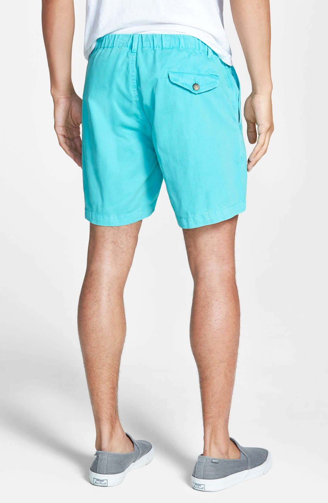'Snappers' Vintage Wash Shorts,                             Alternate thumbnail 3, color,                             461