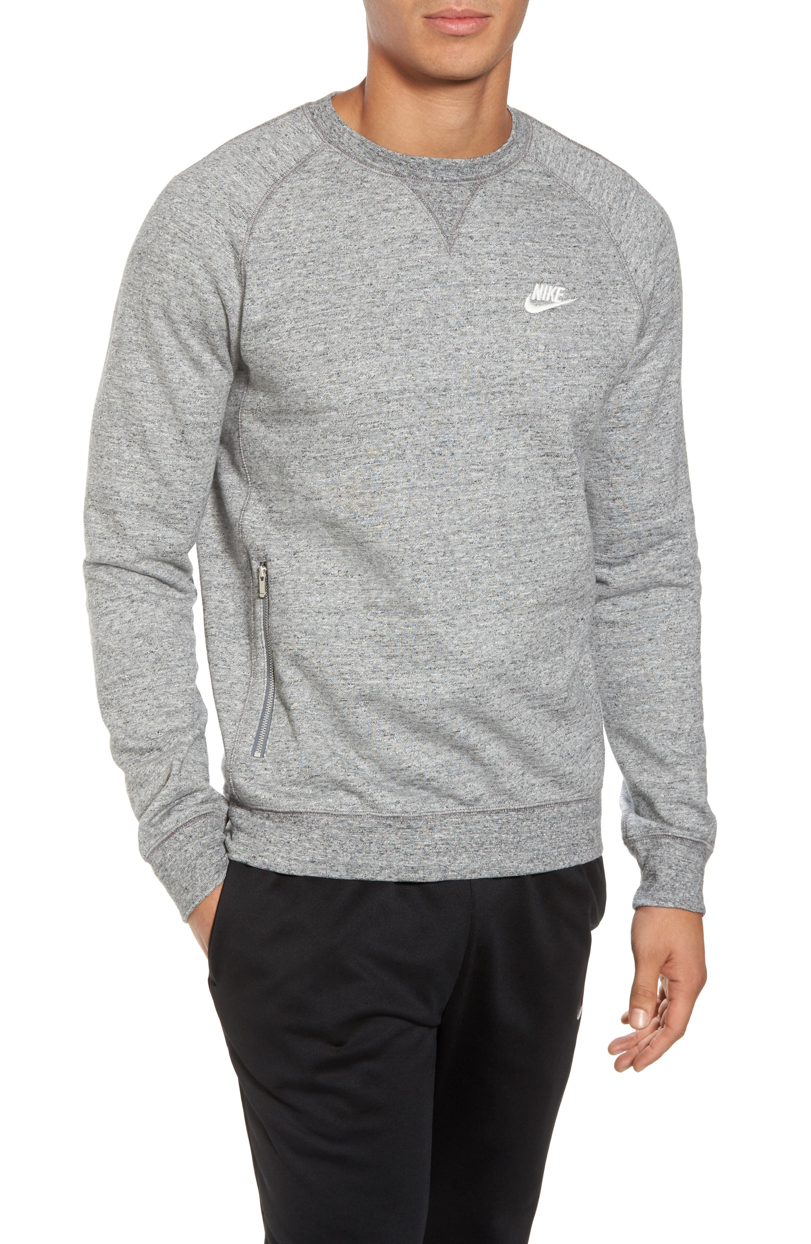 Legacy Raglan Crewneck Sweatshirt,                         Main,                         color, 092
