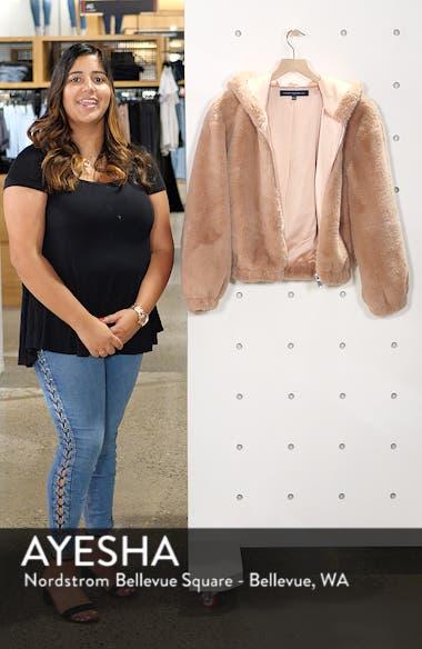 Arabella Faux Shearling Jacket, sales video thumbnail