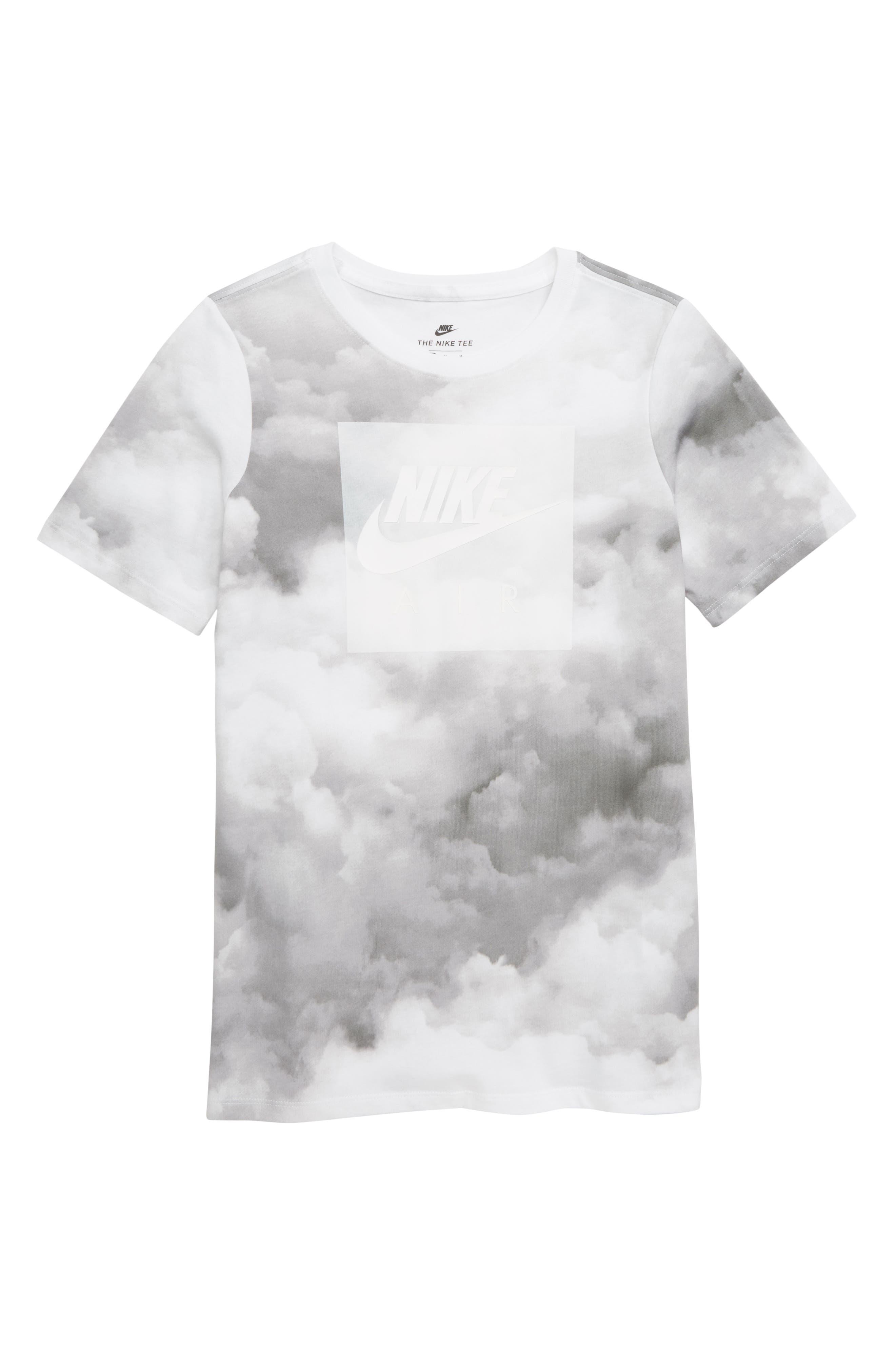 Sportswear Air Graphic T-Shirt,                             Main thumbnail 1, color,                             WHITE