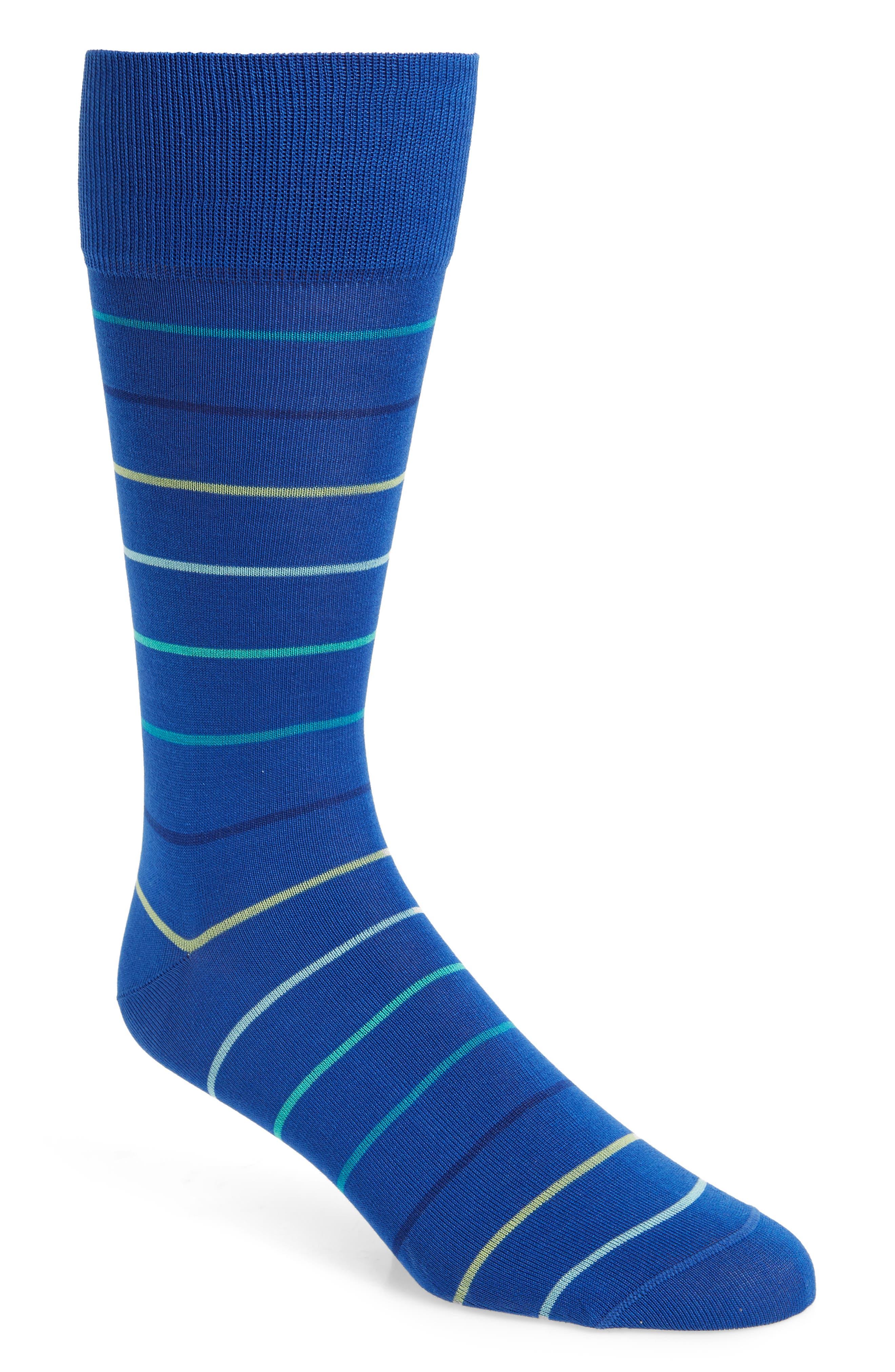 Gradient Pinstripe Socks,                         Main,                         color,