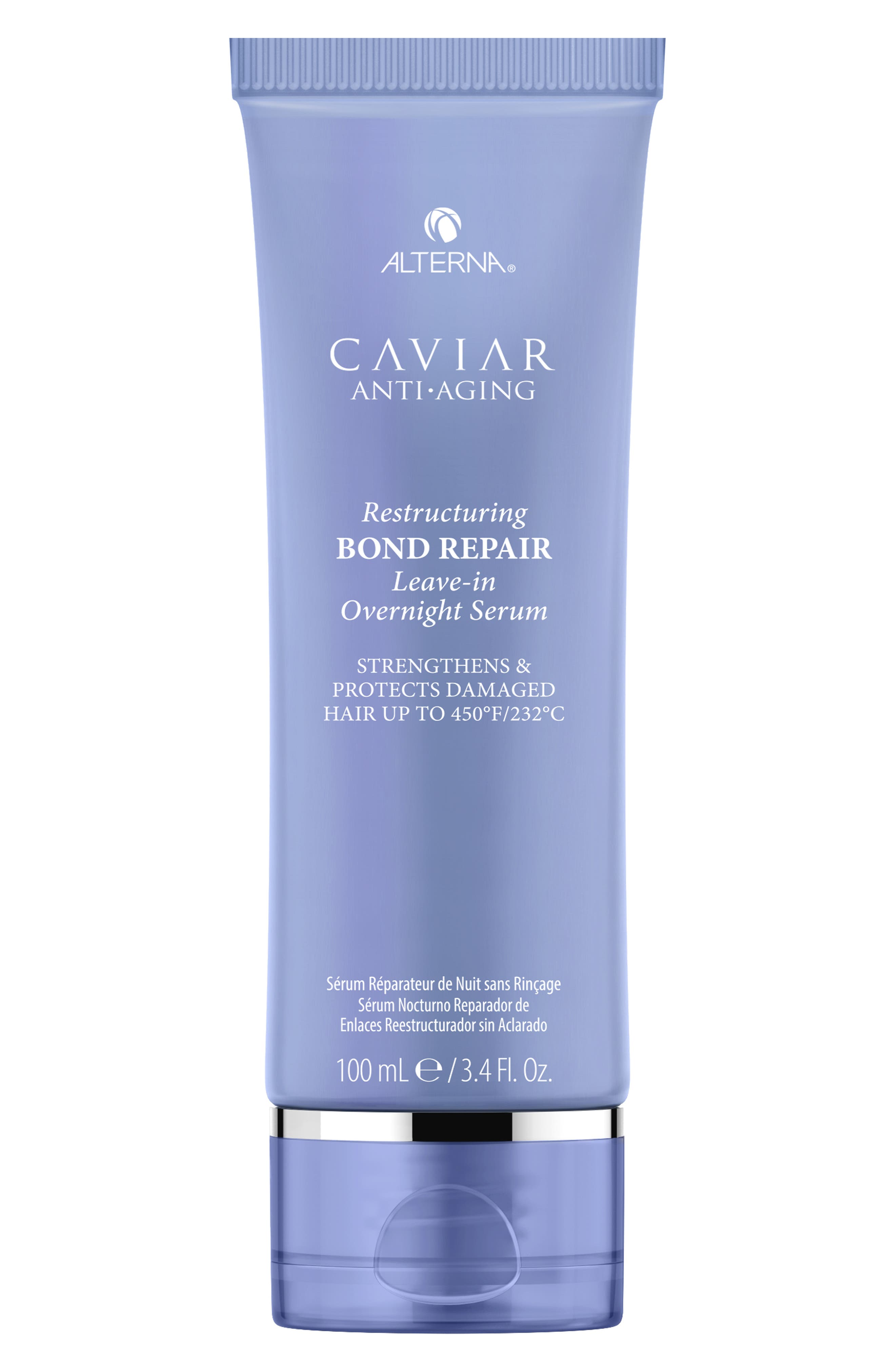 Caviar Anti-Aging Restructuring Bond Repair Leave-in Overnight Serum,                             Main thumbnail 1, color,                             NO COLOR
