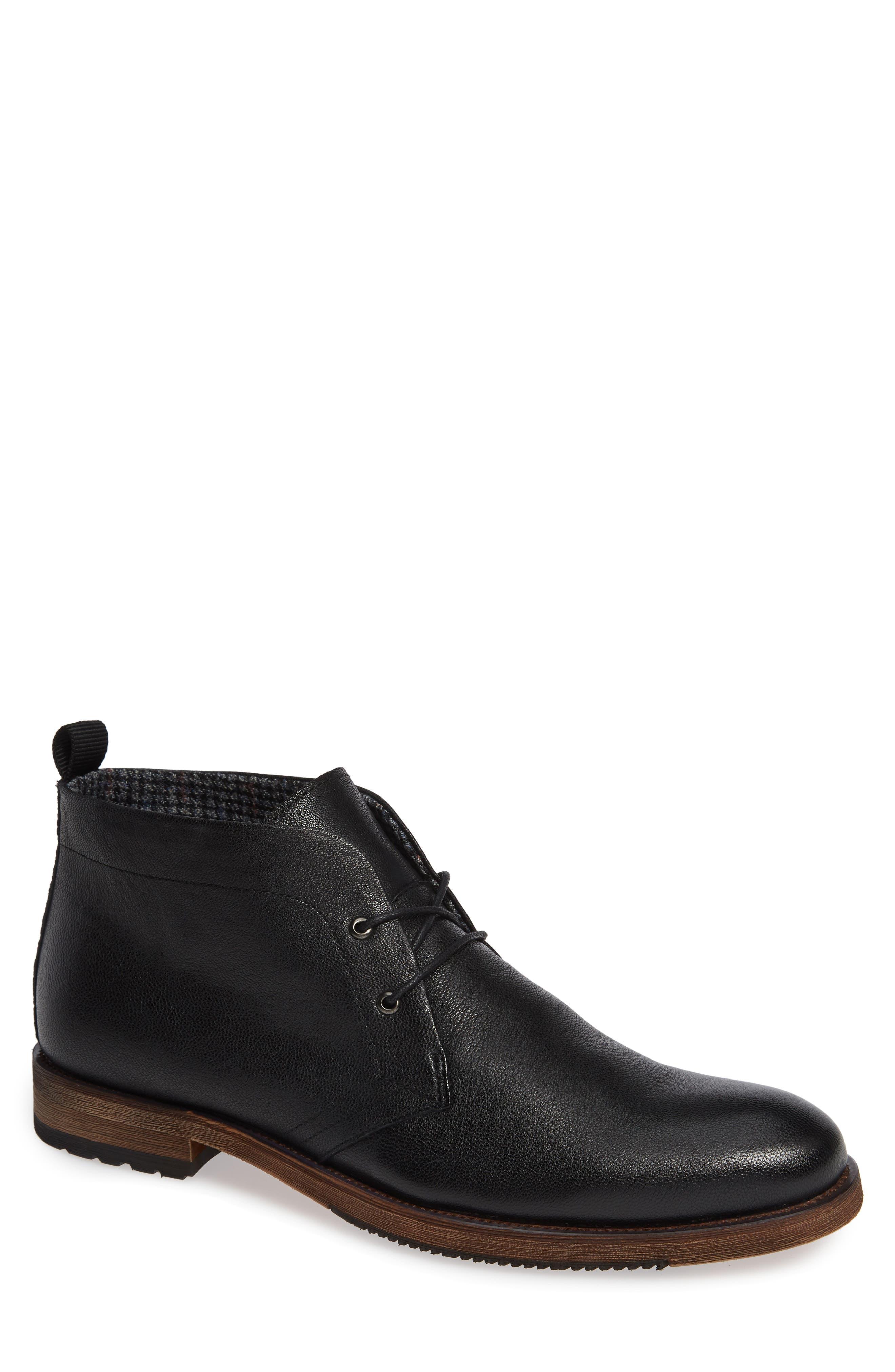 Sheffield Chukka Boot,                             Main thumbnail 1, color,                             BLACK
