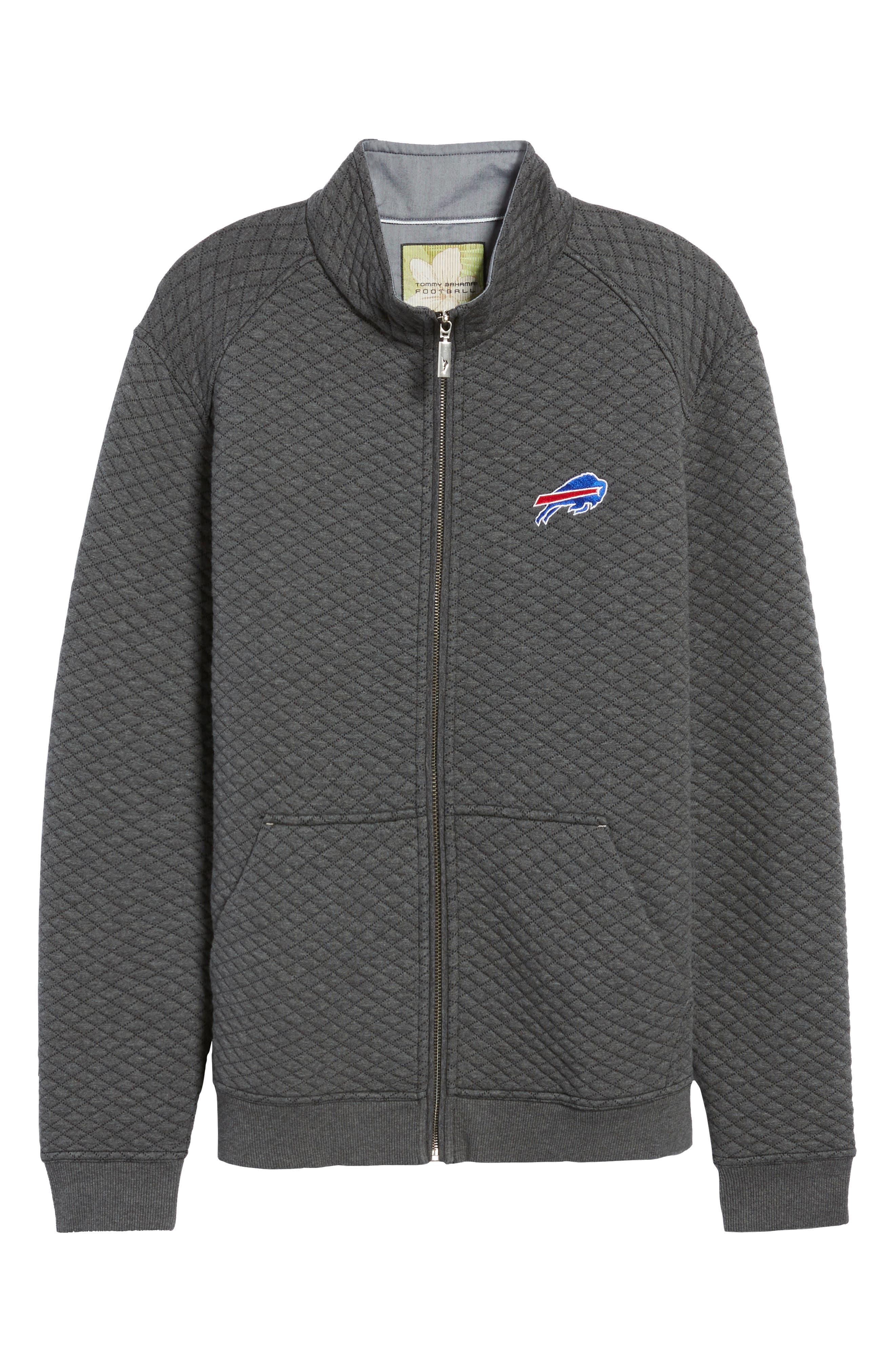 NFL Quiltessential Full Zip Sweatshirt,                             Alternate thumbnail 160, color,