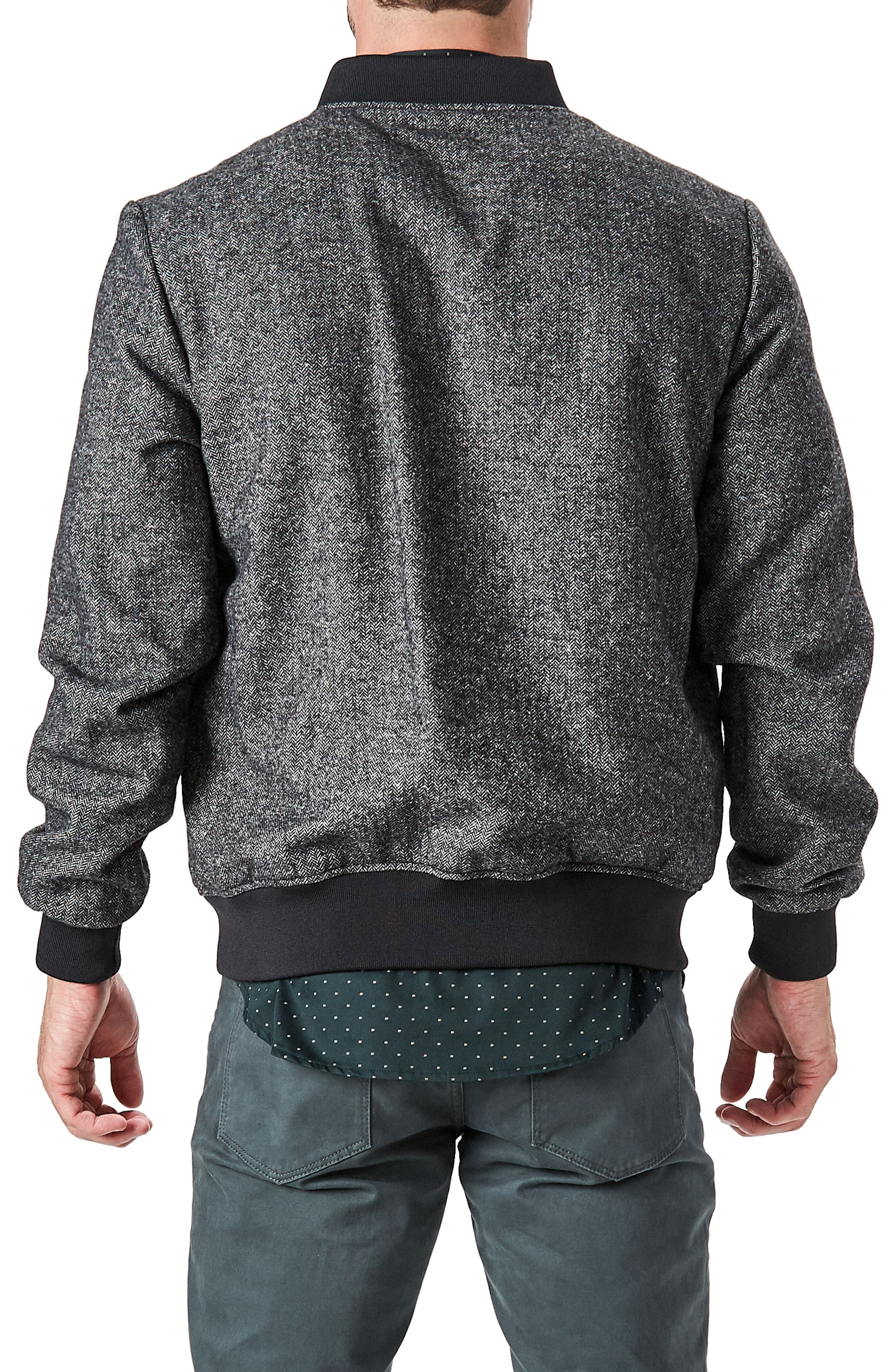 Aether Bomber Jacket,                             Alternate thumbnail 4, color,