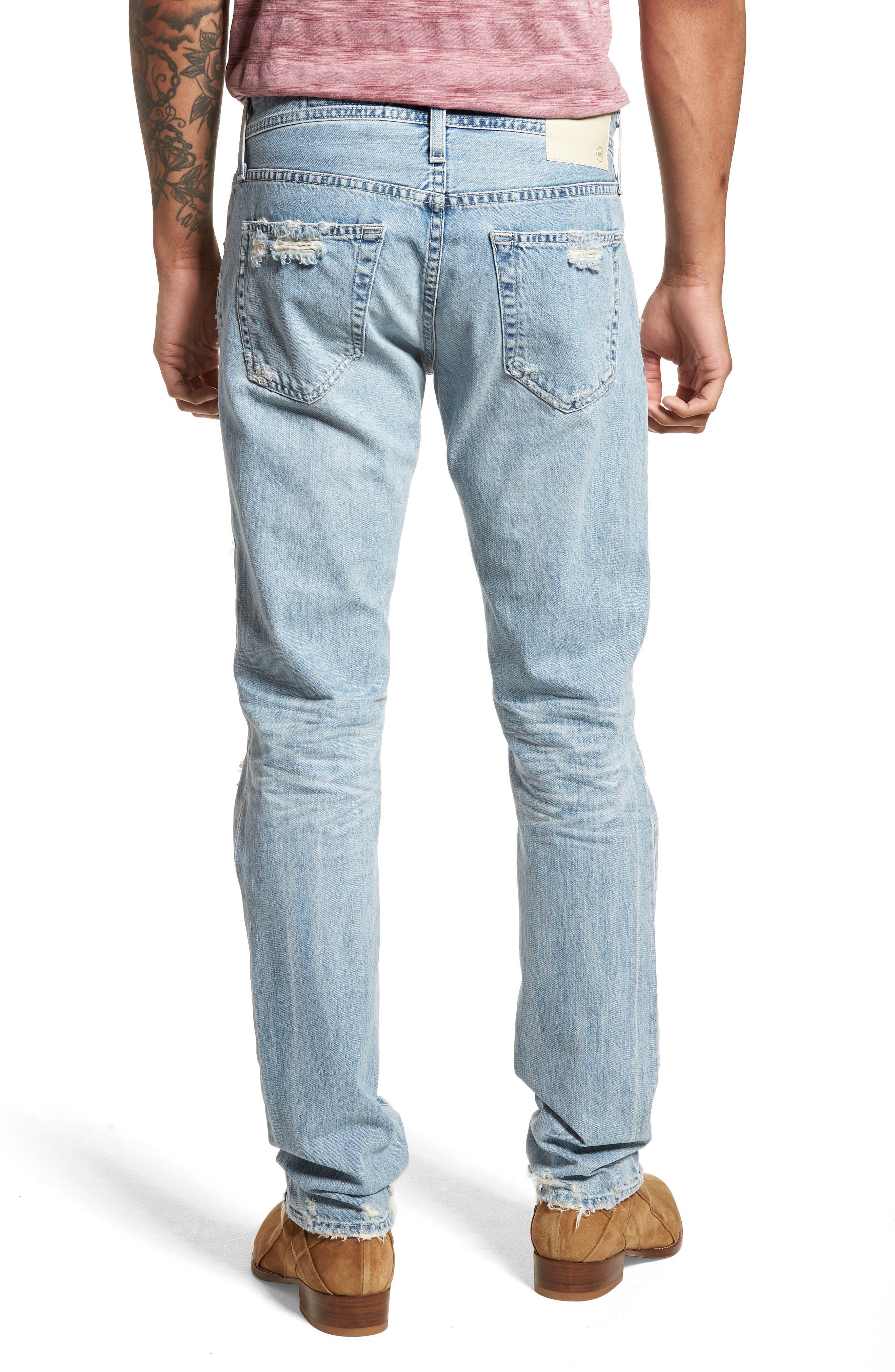 Tellis Slim Fit Jeans,                             Alternate thumbnail 2, color,                             494