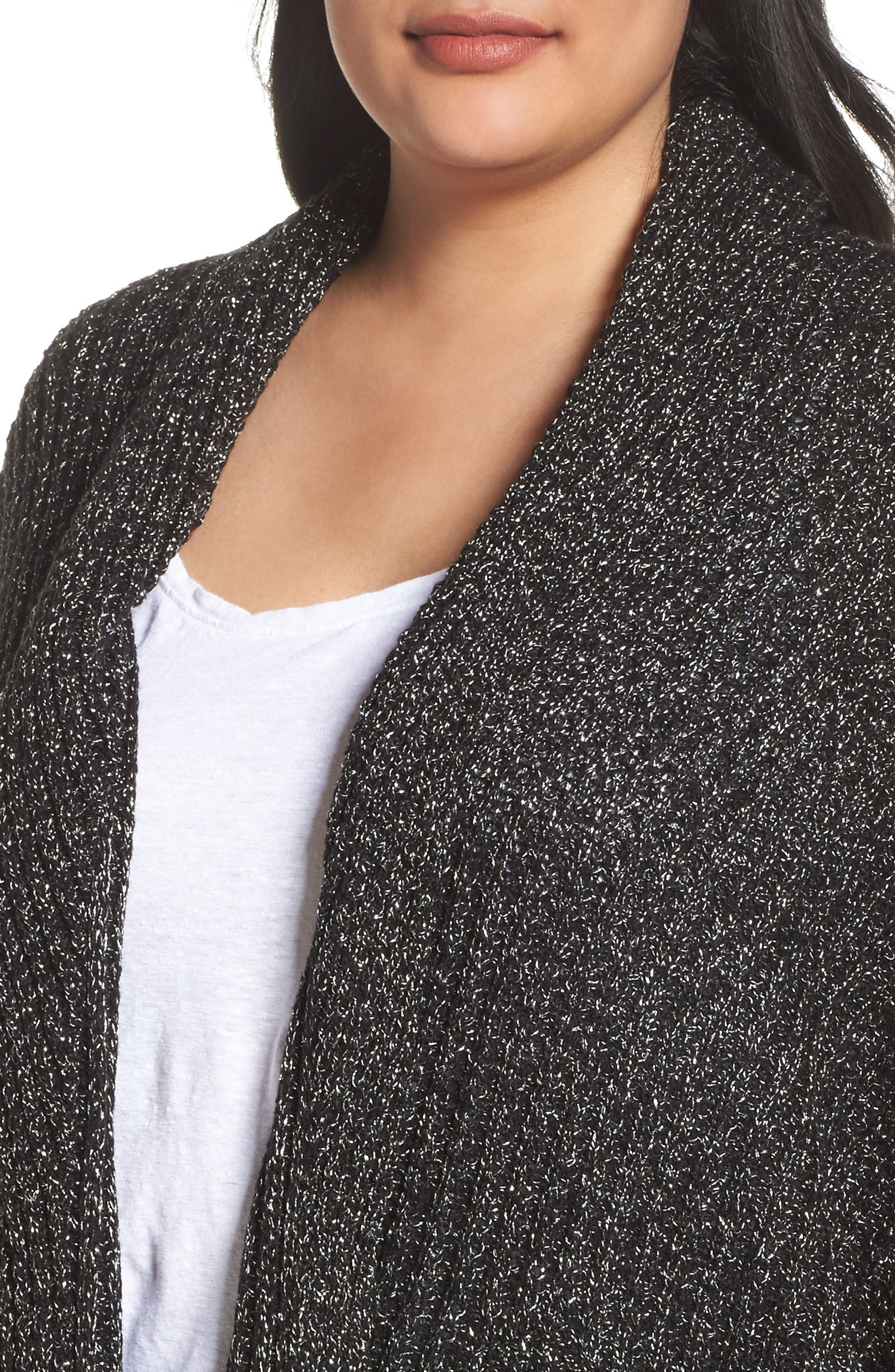 Cocoon Cardigan,                             Alternate thumbnail 4, color,                             017
