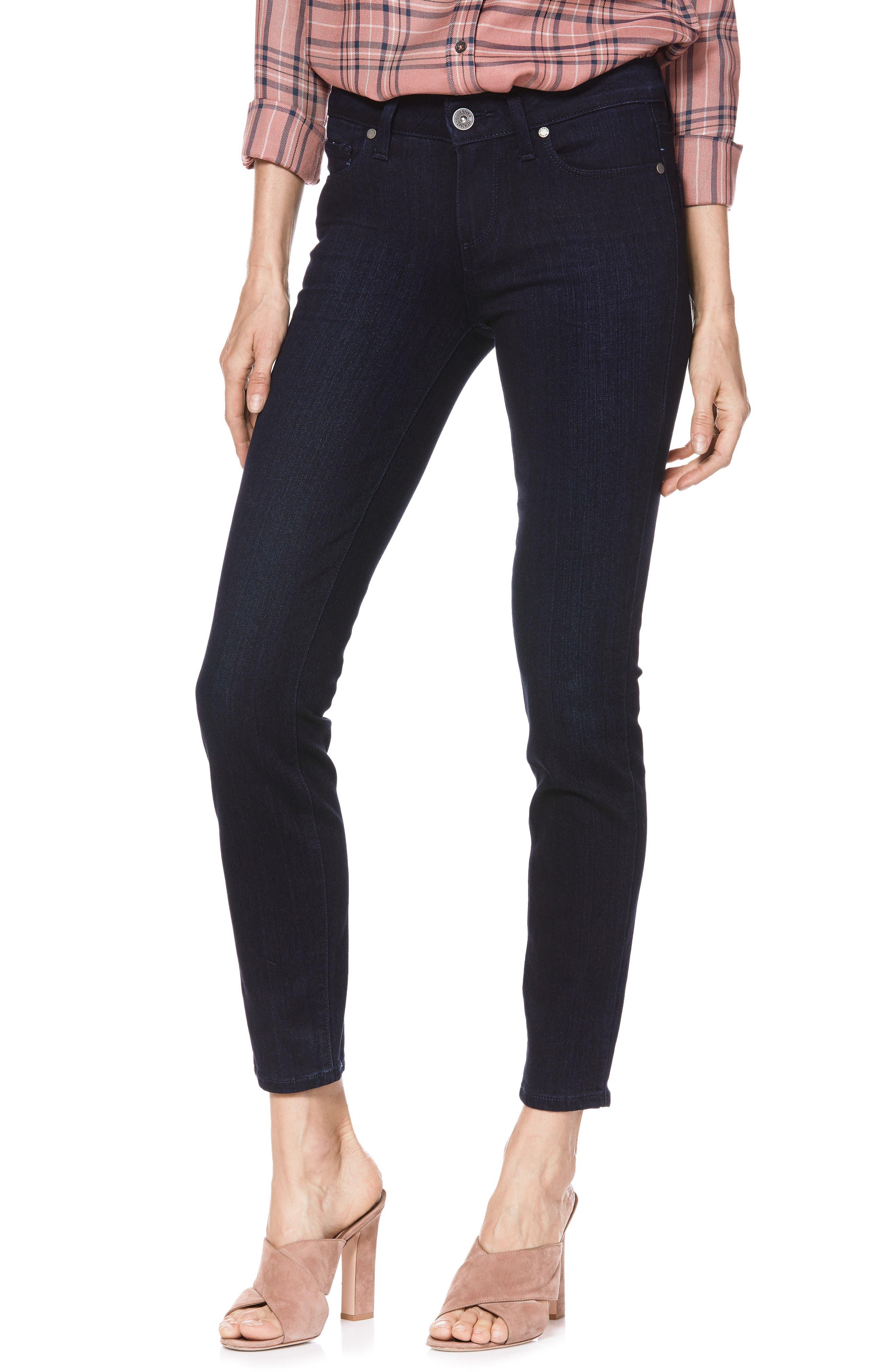 Transcend - Verdugo Ankle Skinny Jeans,                         Main,                         color, LANA