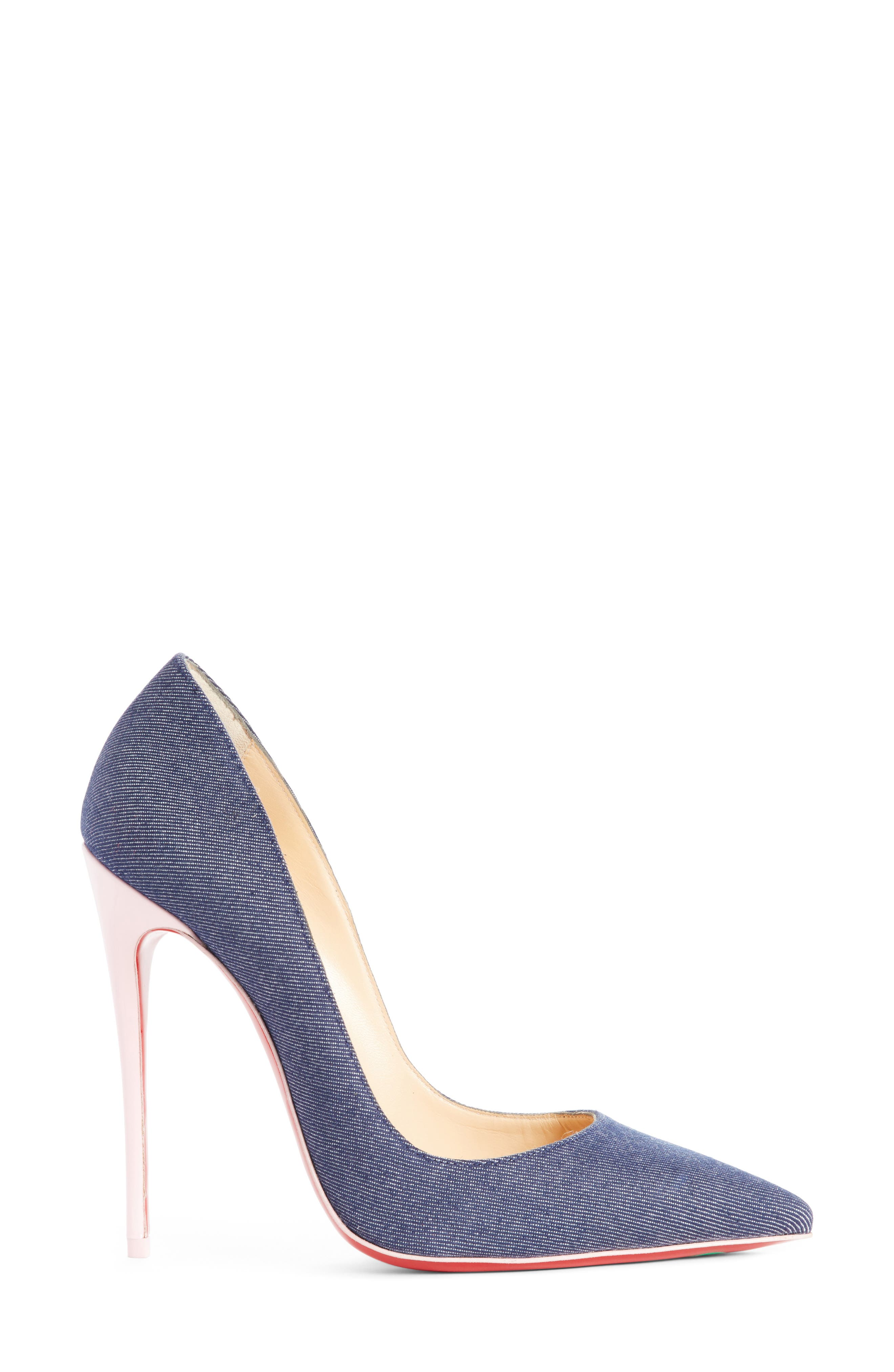 So Kate Pointy Toe Pump,                             Alternate thumbnail 3, color,                             400