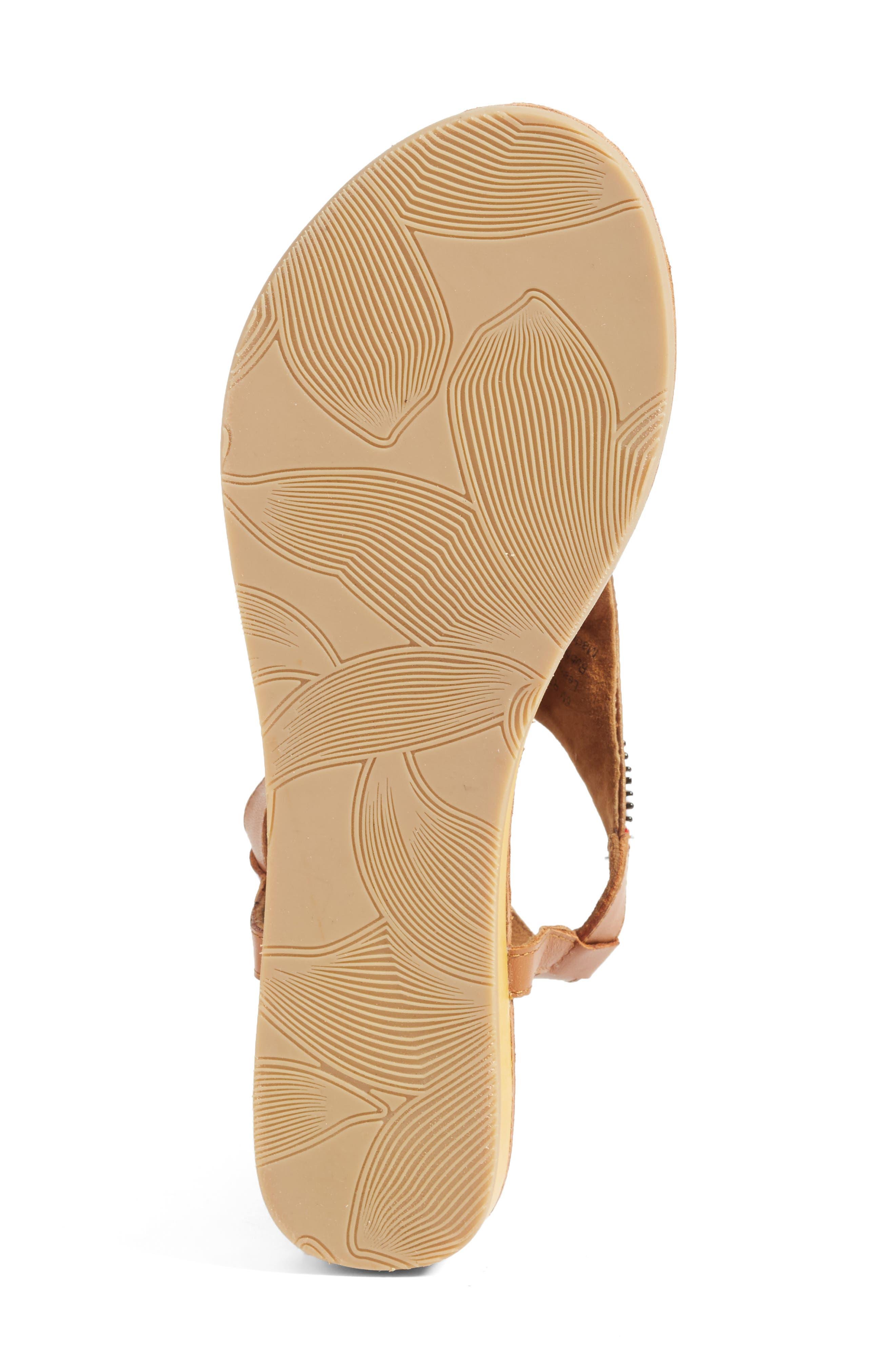 Zandra Beaded V-Strap Sandal,                             Alternate thumbnail 4, color,                             200
