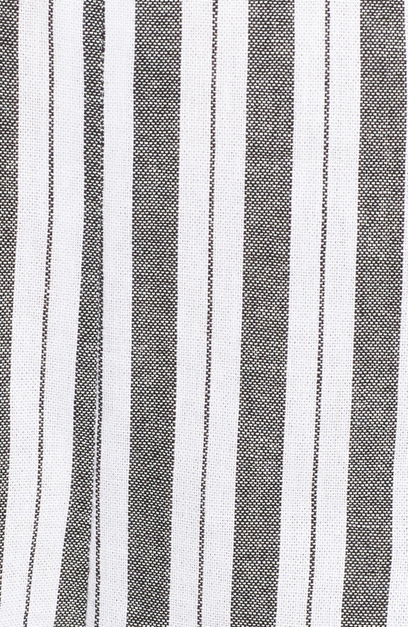 Acacia Stripe High Waist Shorts,                             Alternate thumbnail 5, color,