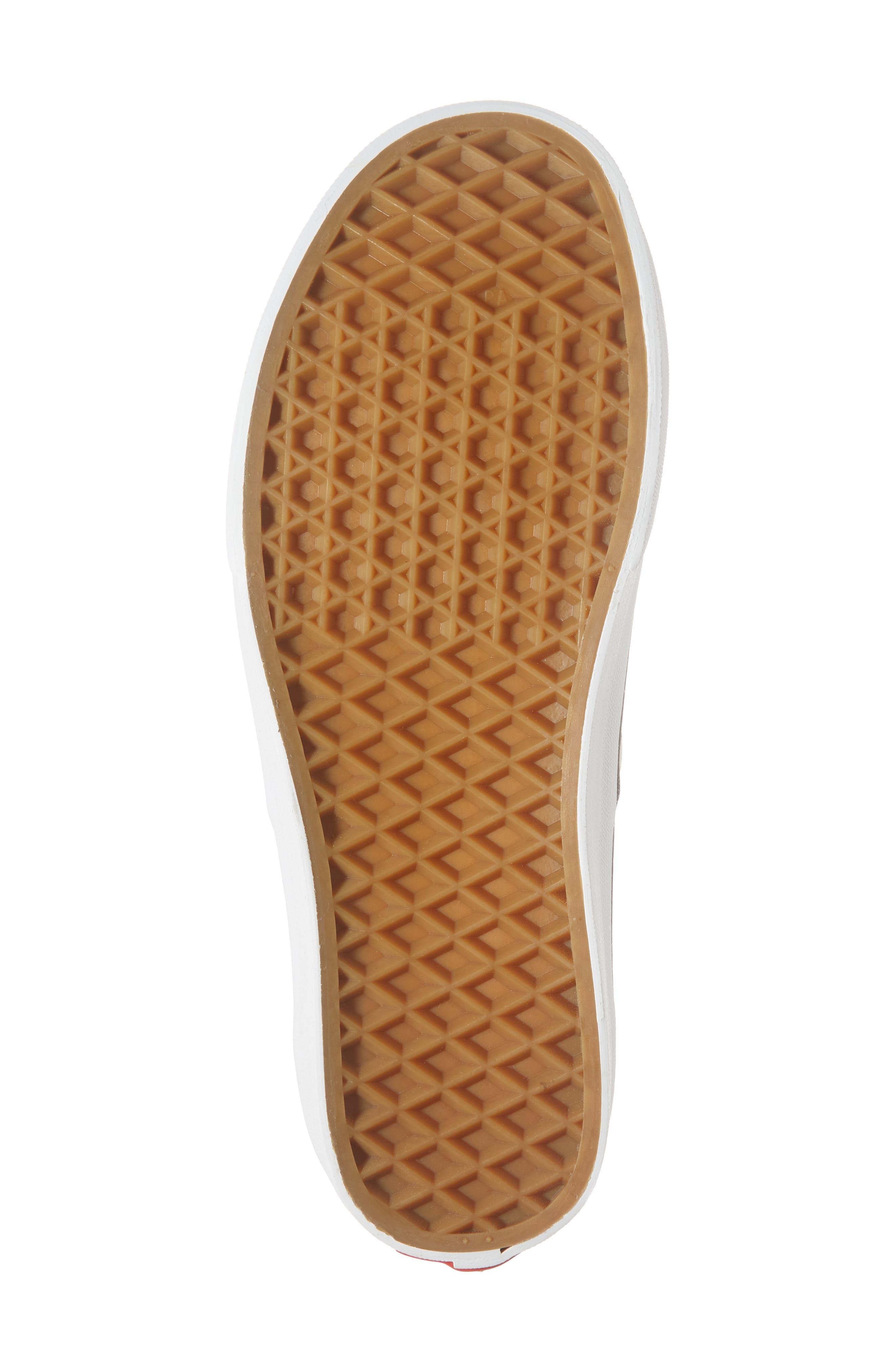 'Authentic' Sneaker,                             Alternate thumbnail 6, color,                             BLACK/ WHITE CHECKER