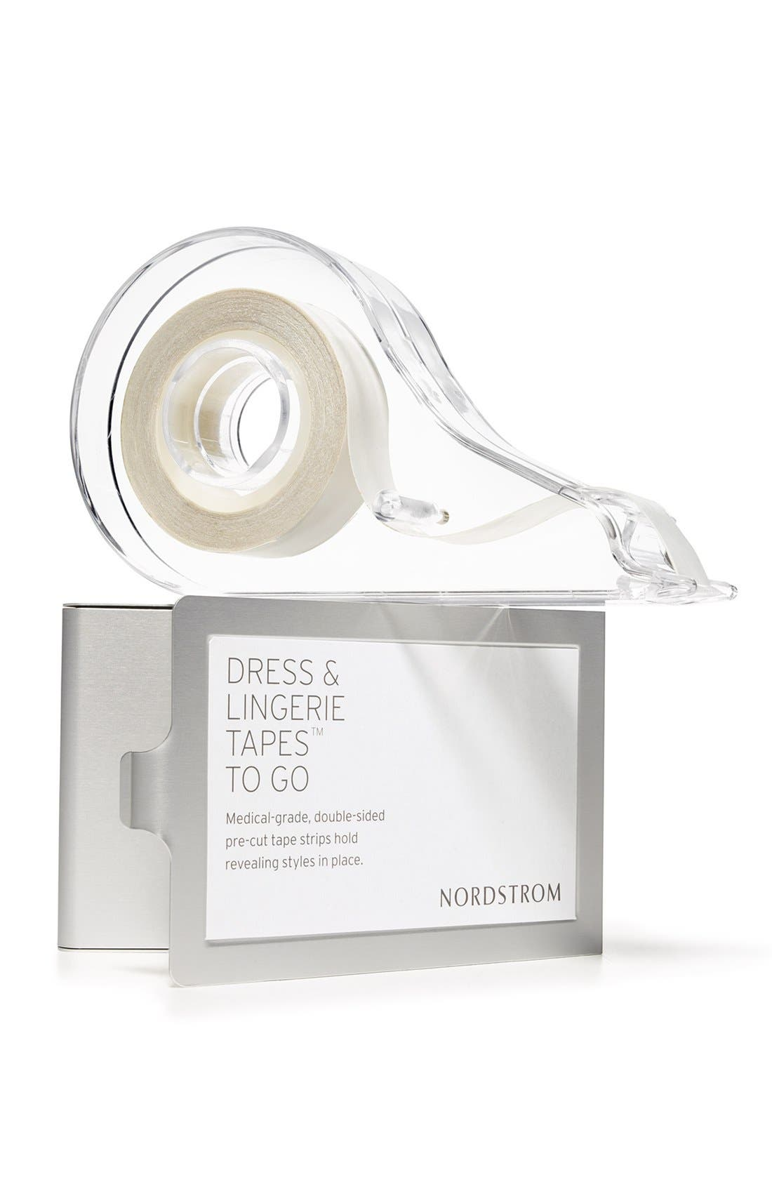 NORDSTROM LINGERIE,                             Dress & Lingerie Tapes<sup>™</sup> To Go,                             Alternate thumbnail 4, color,                             CLEAR