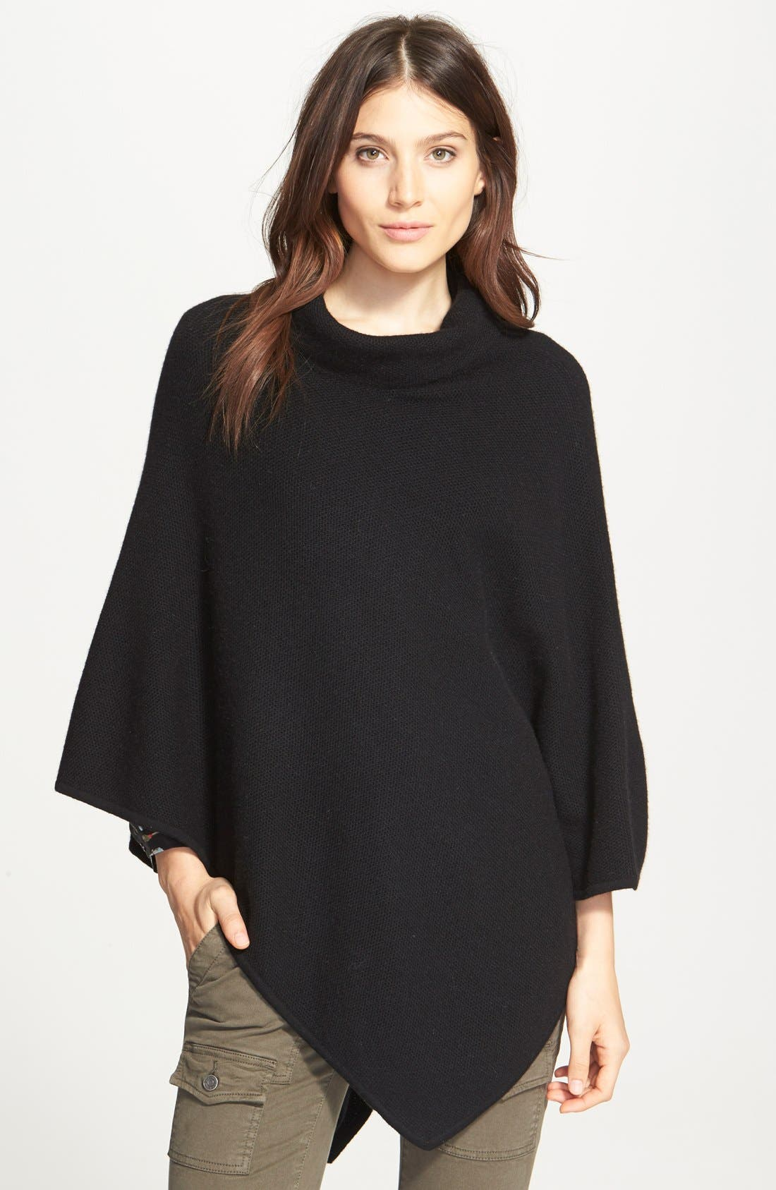 JOIE 'Loysse' Wool & Cashmere Cowl Neck Sweater, Main, color, 002