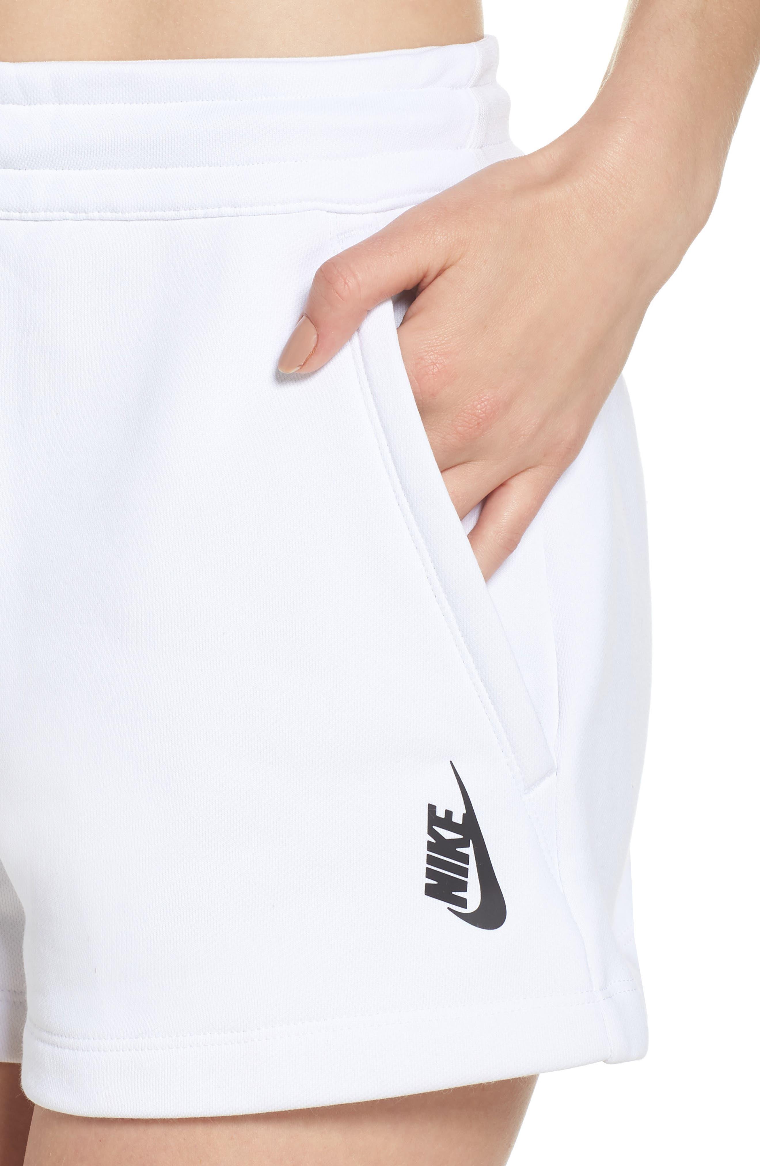 NikeLab Collection Women's Fleece Shorts,                             Alternate thumbnail 4, color,                             100