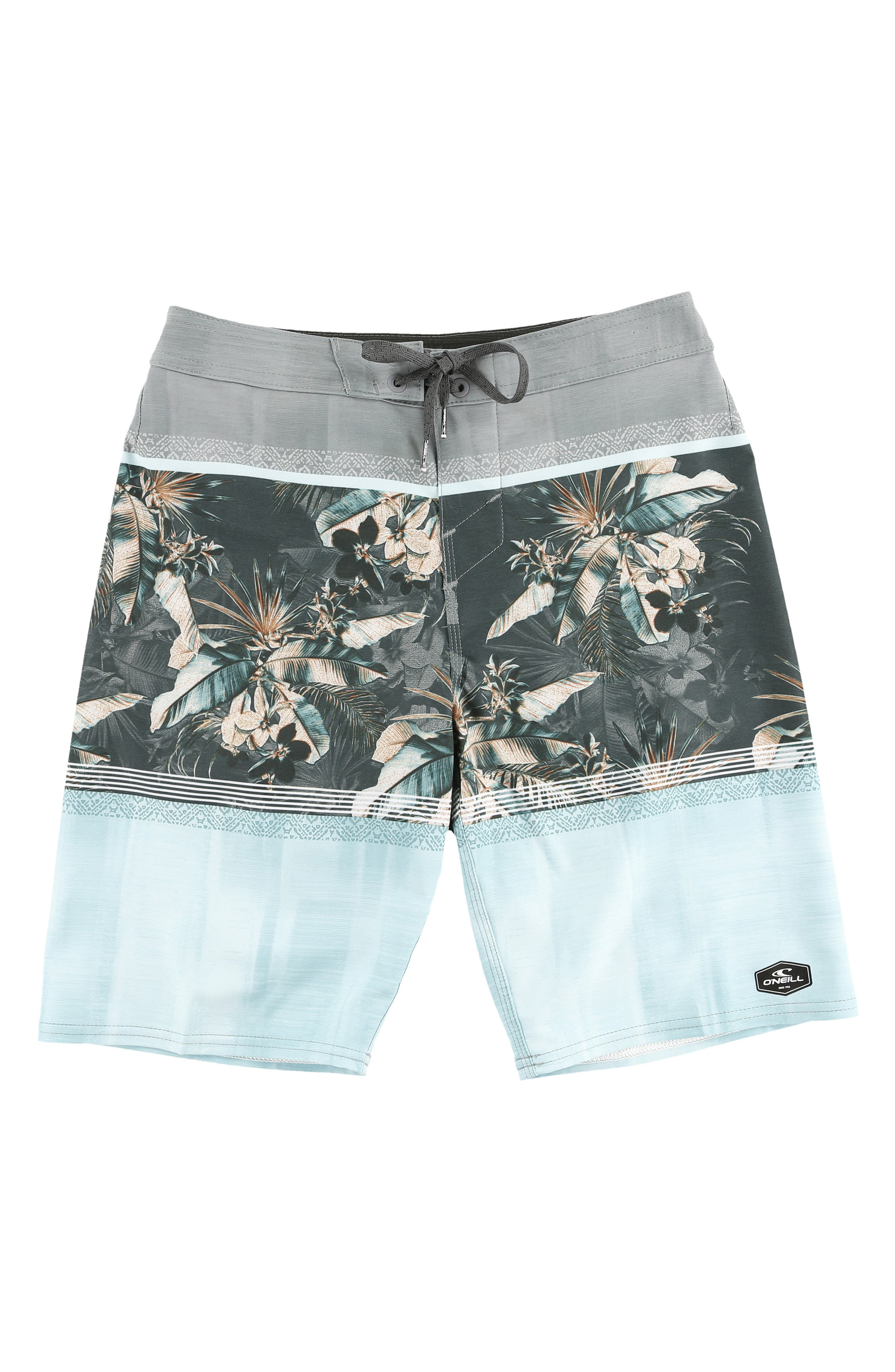 Hyperfreak Board Shorts,                         Main,                         color, TURQUOISE