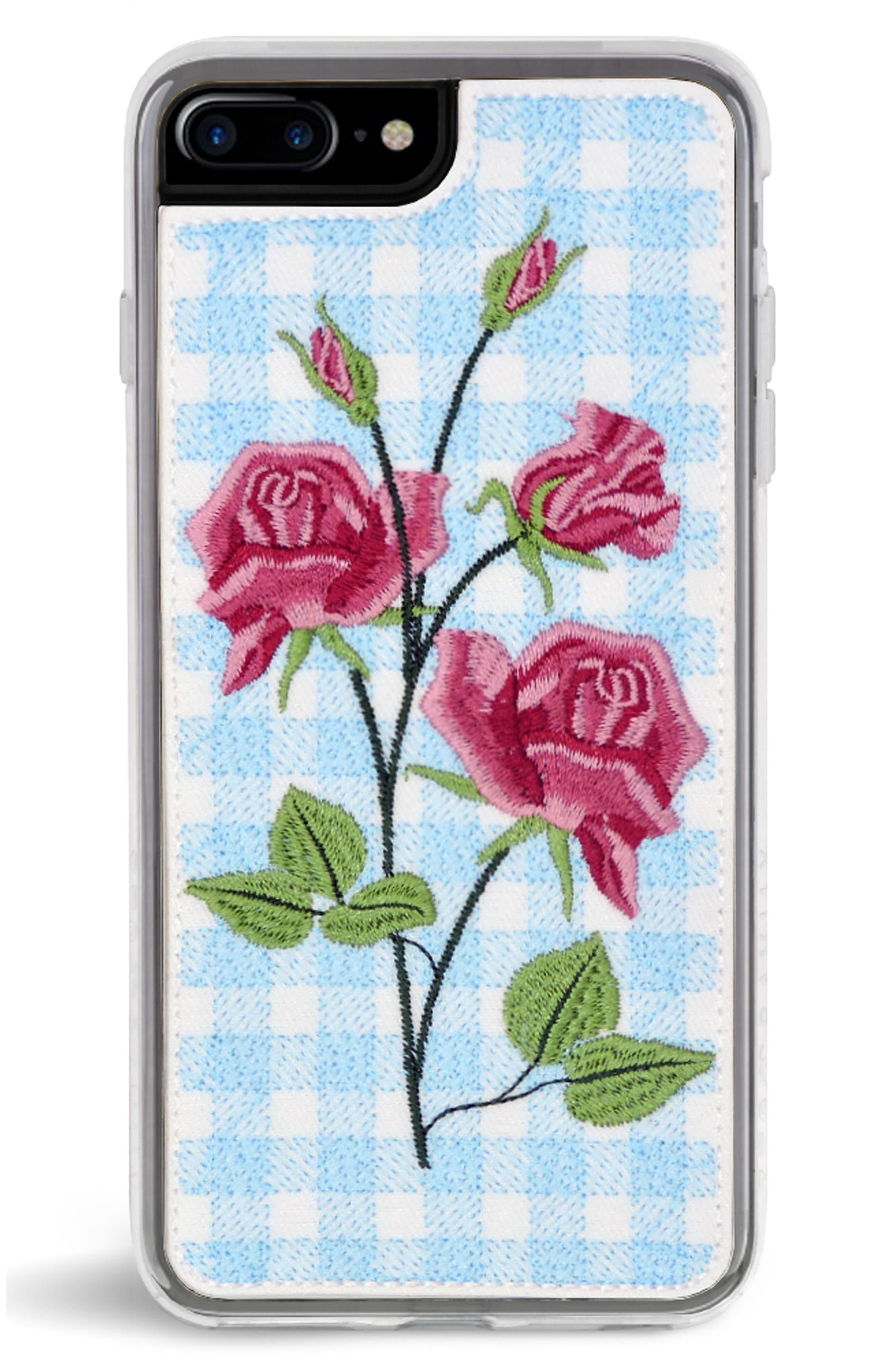 Bardot iPhone 7/8 & 7/8 Plus Case,                             Main thumbnail 1, color,                             BLUE MULTI