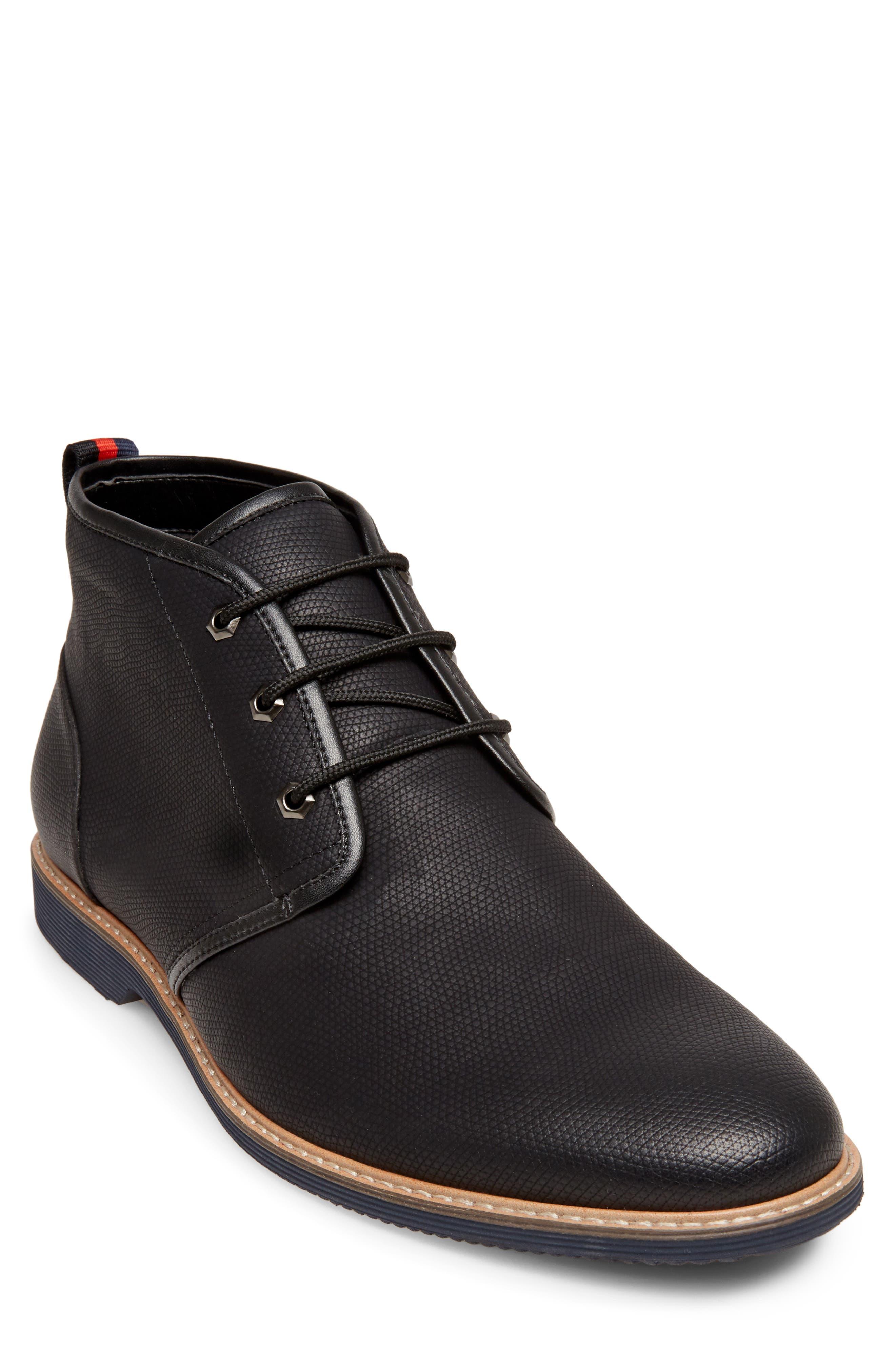 Nurture Plain Toe Boot,                         Main,                         color, BLACK