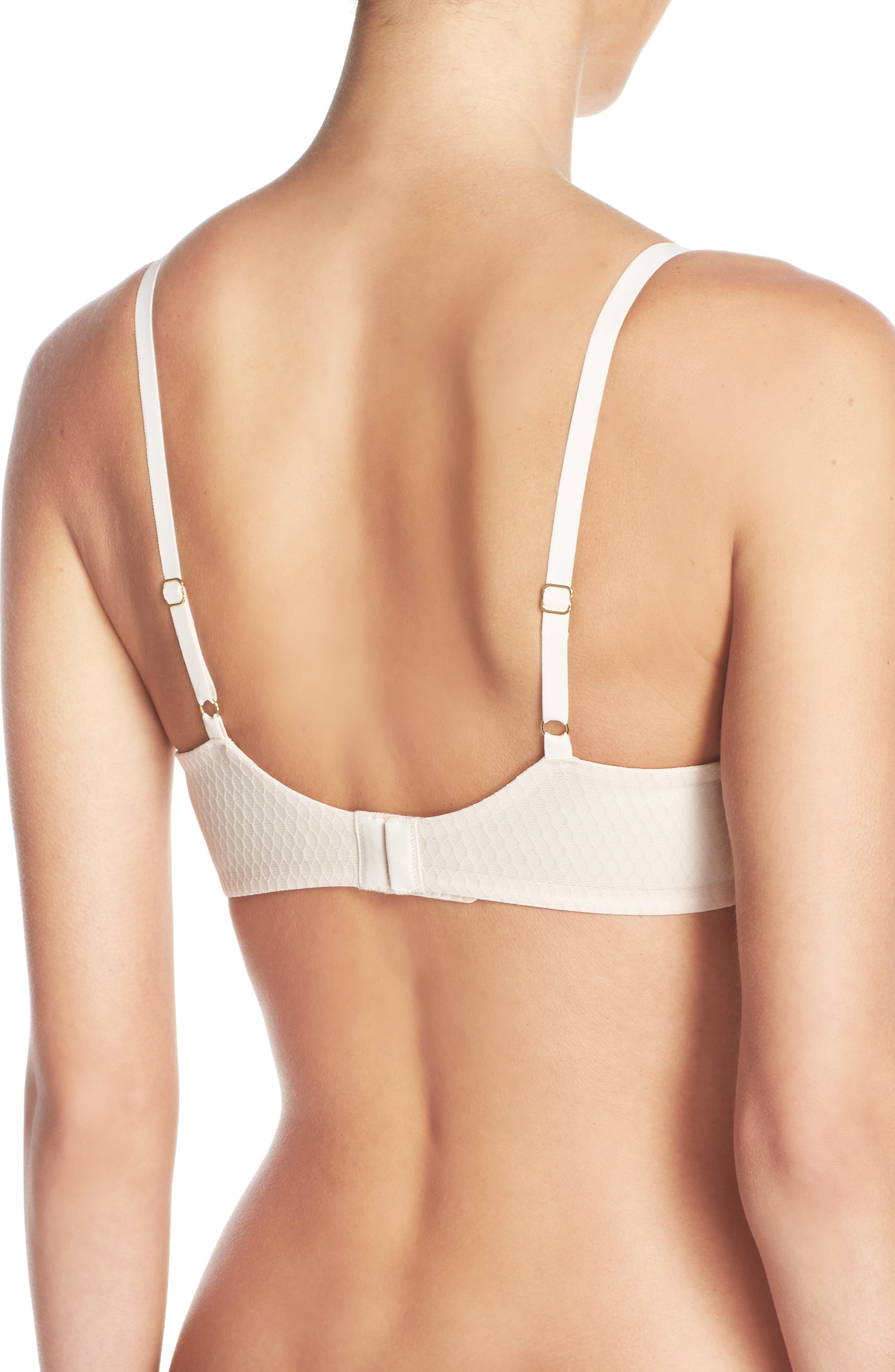 'Paradox' Seamless Underwire Bra,                             Main thumbnail 1, color,                             CASHMERE