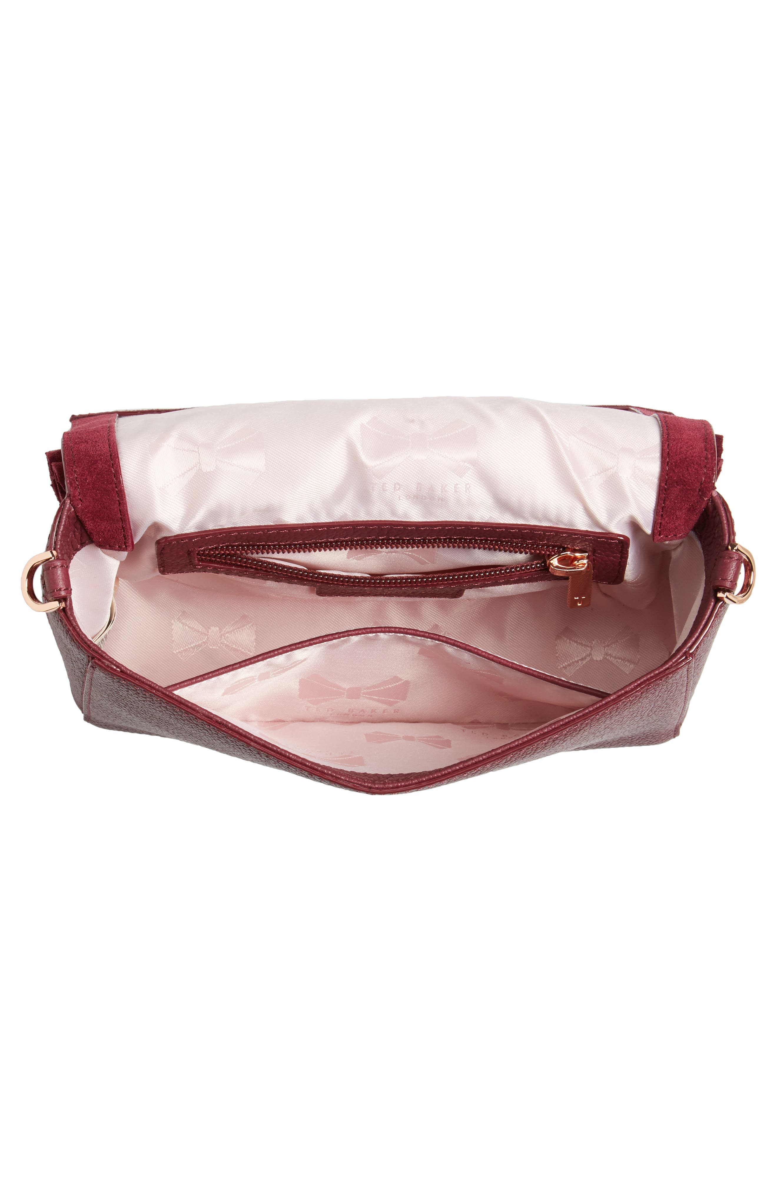 Nerinee Bow Buckle Clutch,                             Alternate thumbnail 11, color,