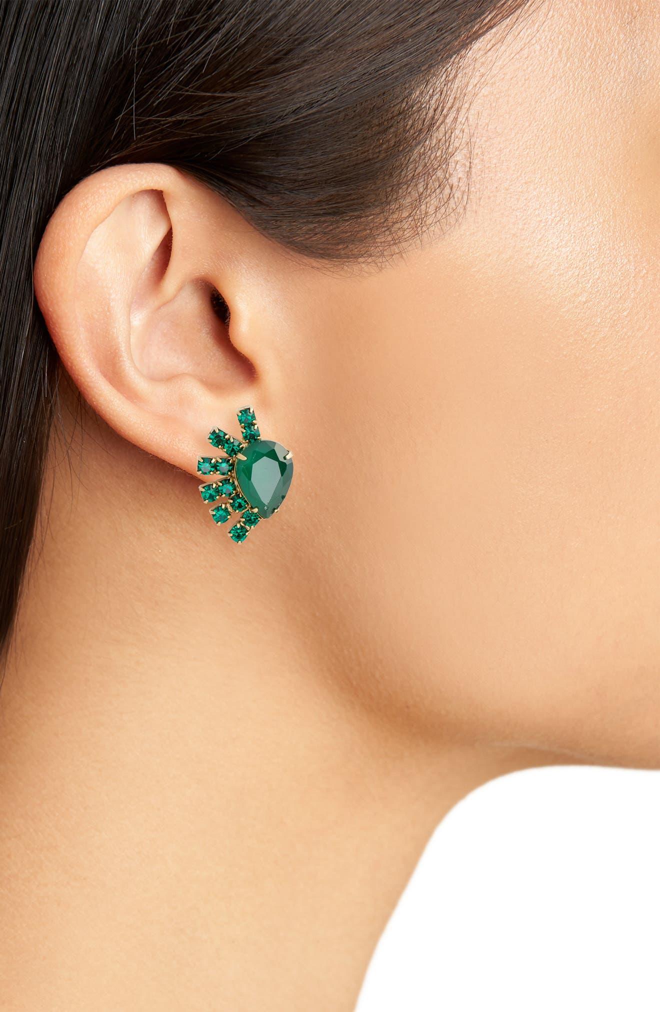 Olivia Stud Earrings,                             Alternate thumbnail 7, color,