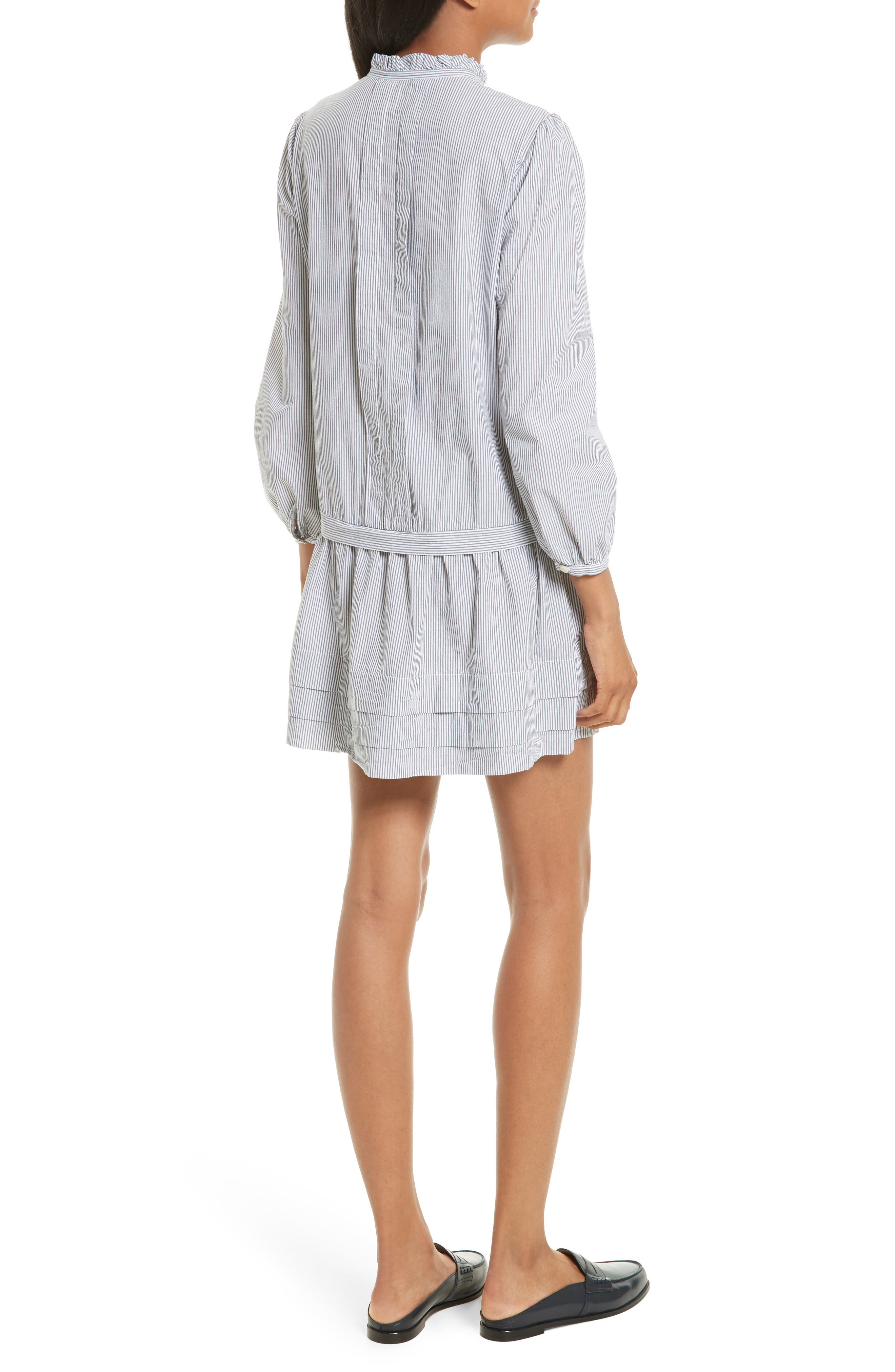 Cotton Shirtdress,                             Alternate thumbnail 2, color,                             001