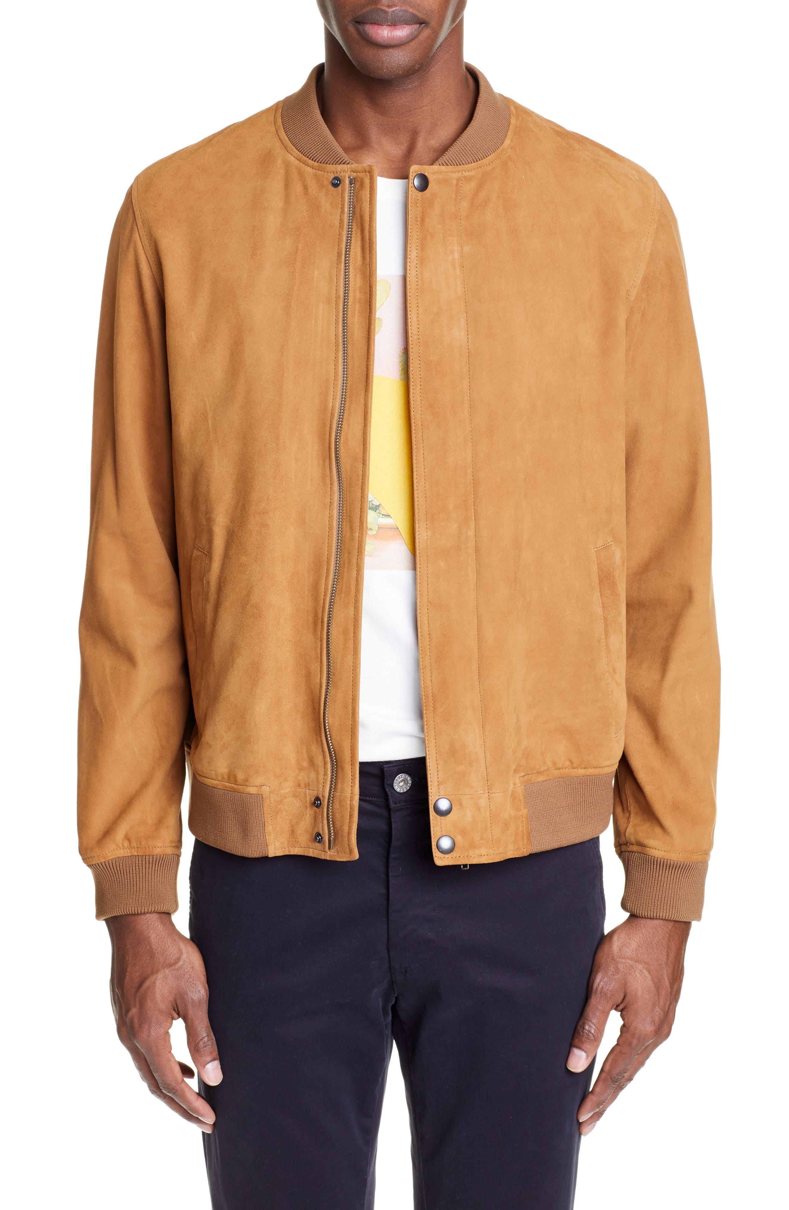 Editions Mr Jean-Paul Suede Jacket