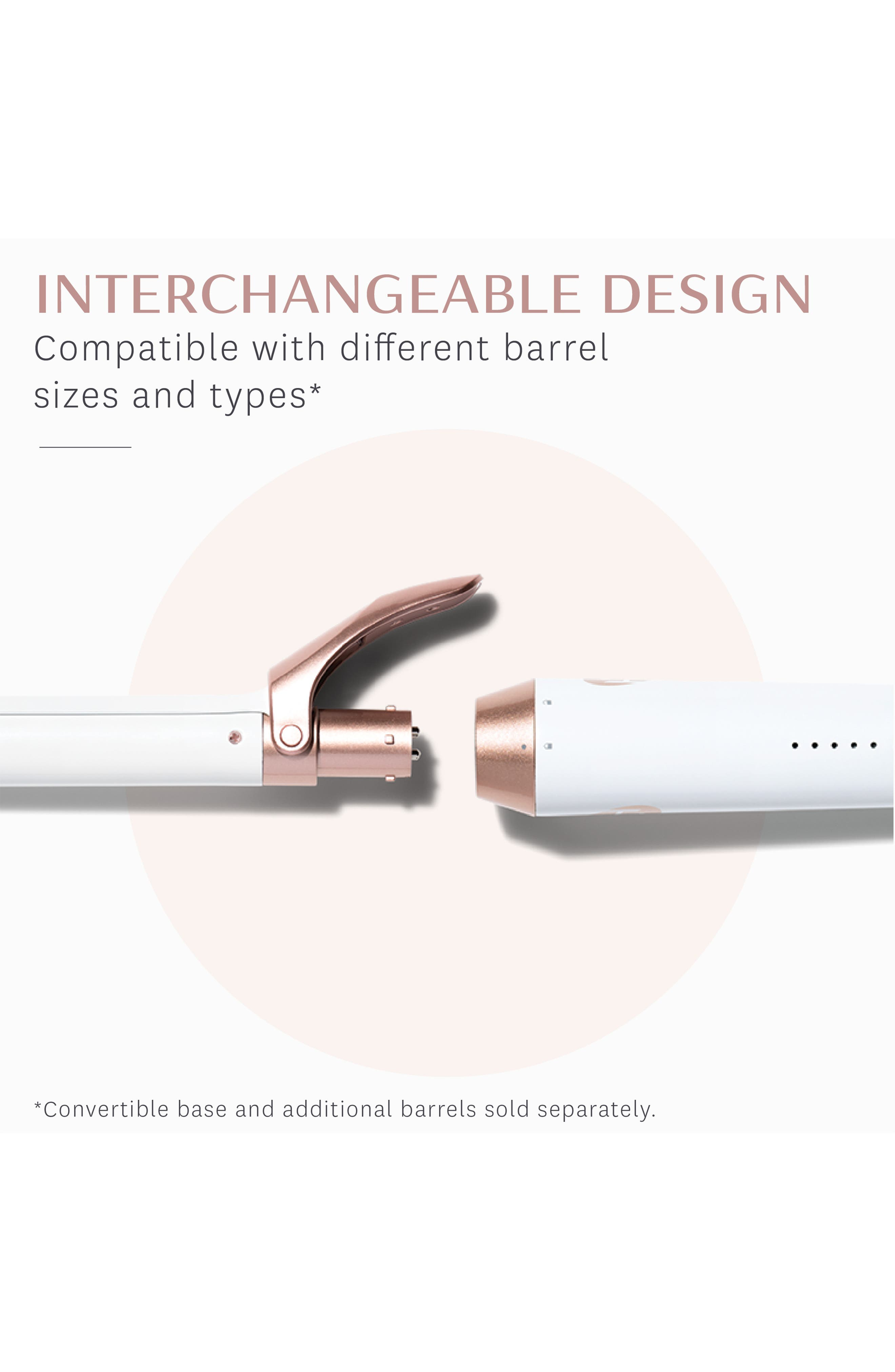 Defined Curls 1-Inch Interchangeable Clip Curling Iron Barrel,                             Alternate thumbnail 2, color,                             000