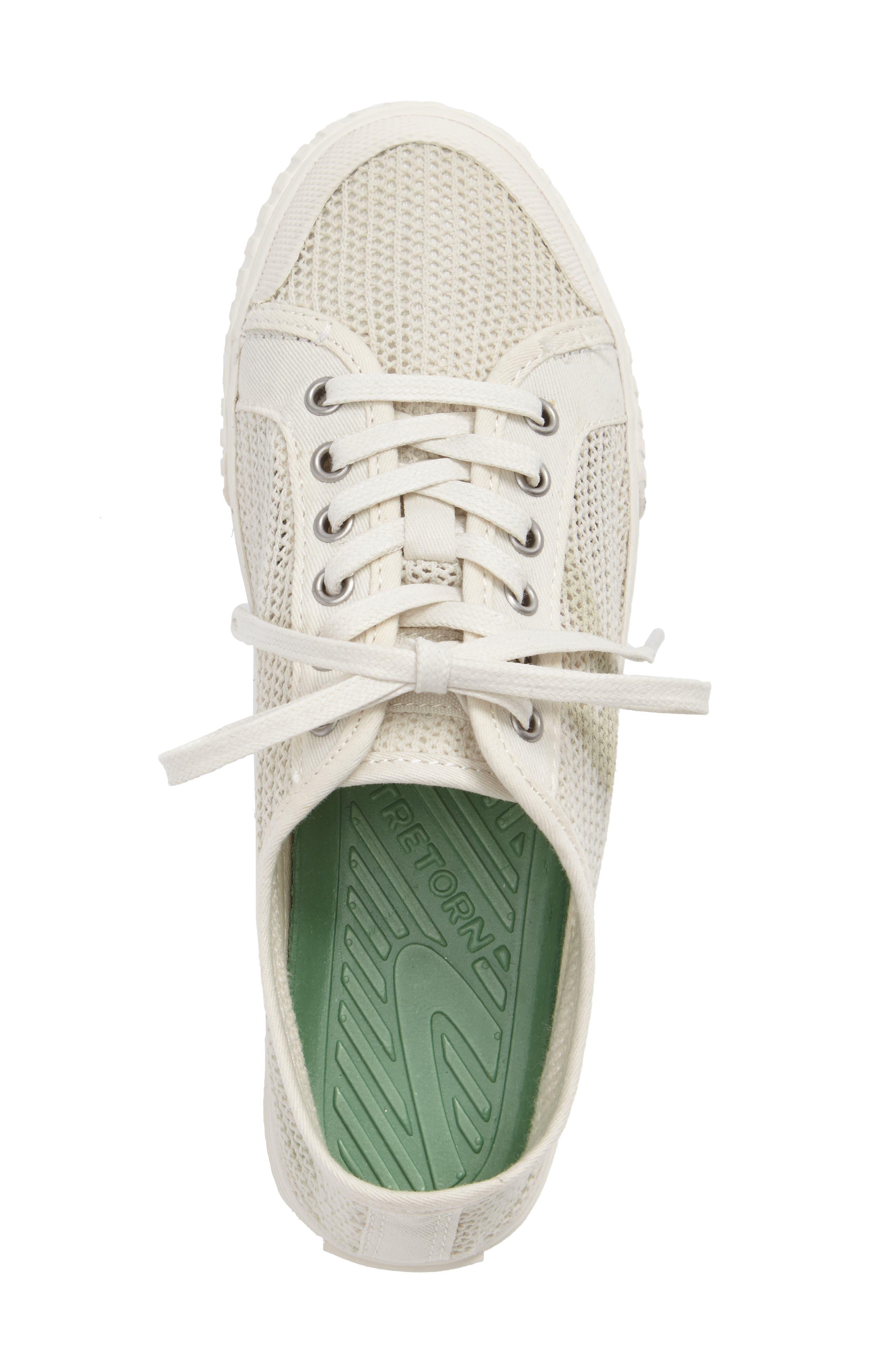 'Tournament Net' Sneaker,                             Alternate thumbnail 3, color,                             WHITE