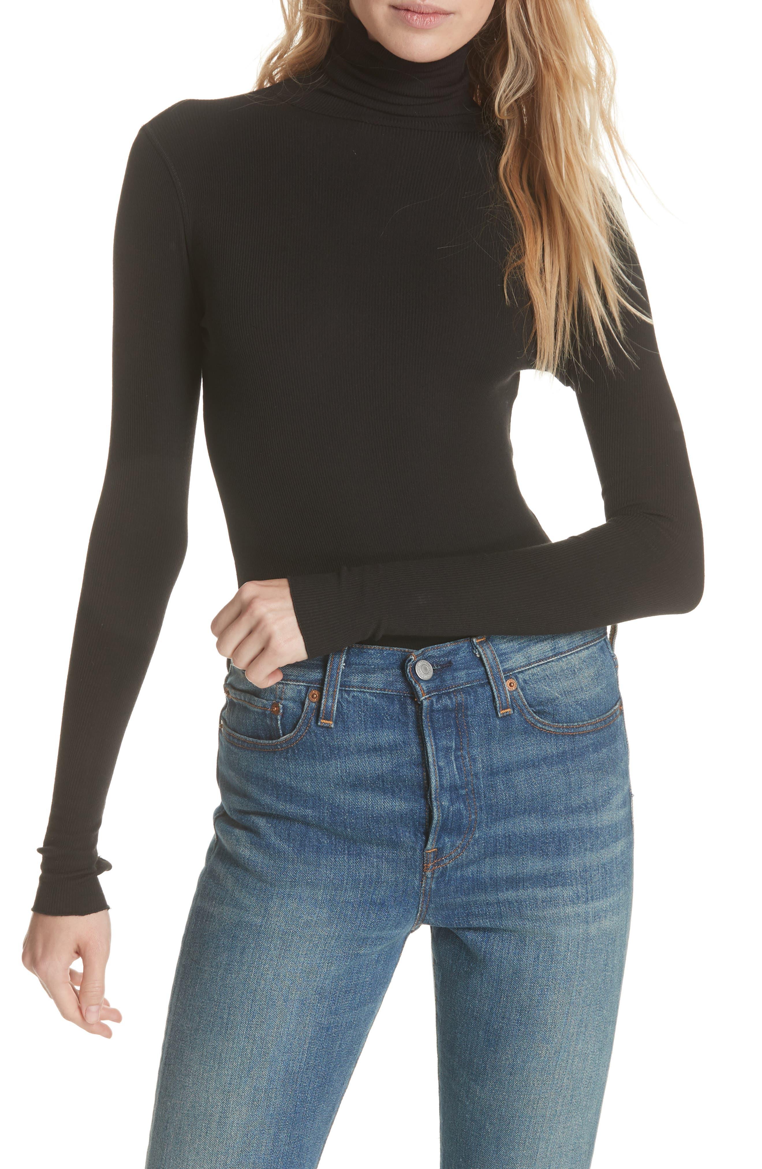 That Classic Girl Bodysuit,                             Main thumbnail 1, color,                             BLACK