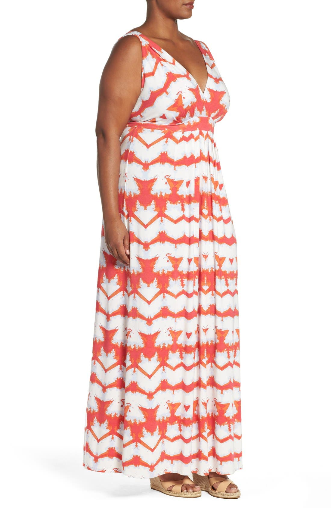 Chloe Empire Waist Maxi Dress,                             Alternate thumbnail 58, color,