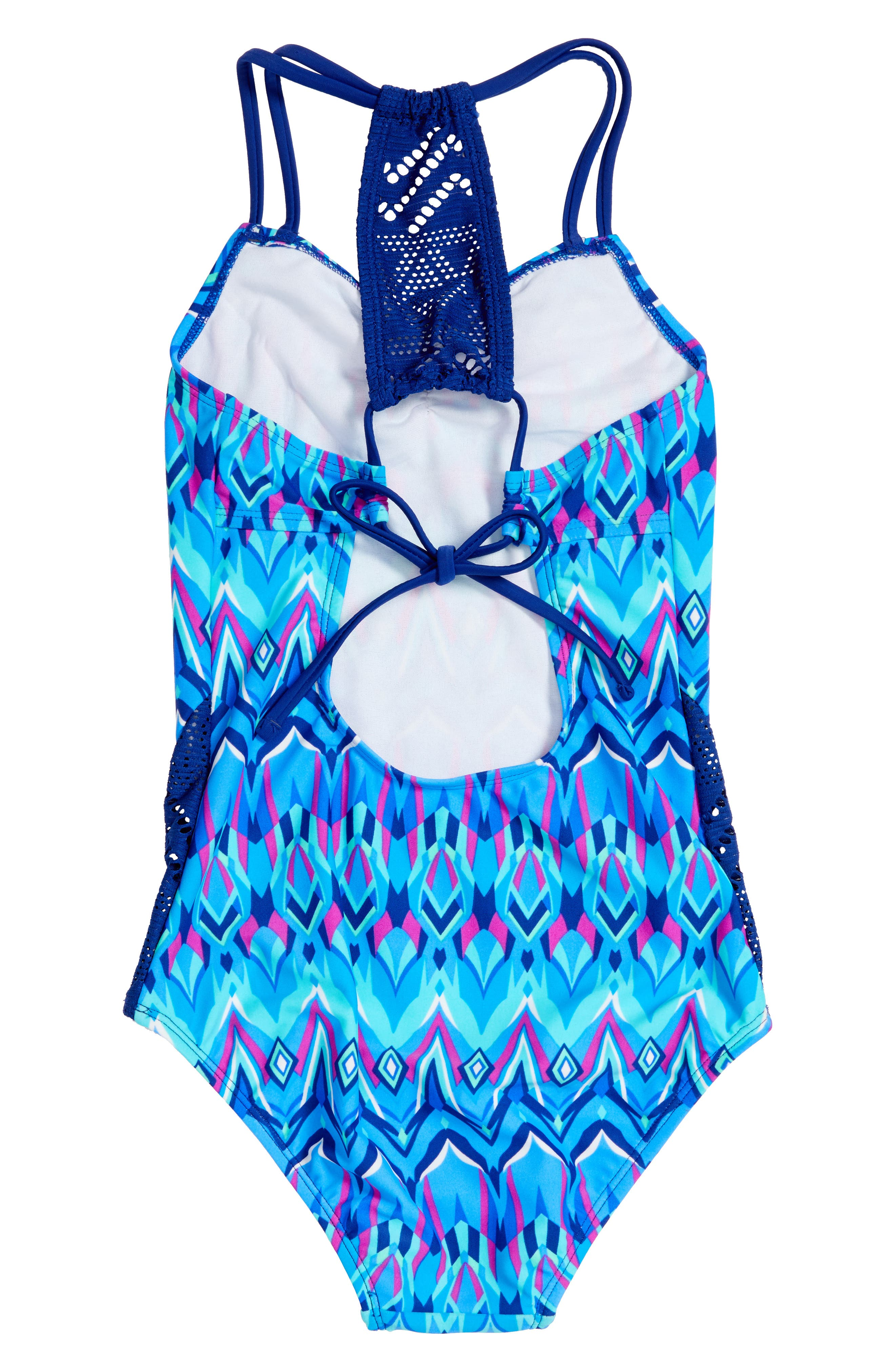 Kaleidoscope One-Piece Swimsuit,                             Alternate thumbnail 2, color,                             476