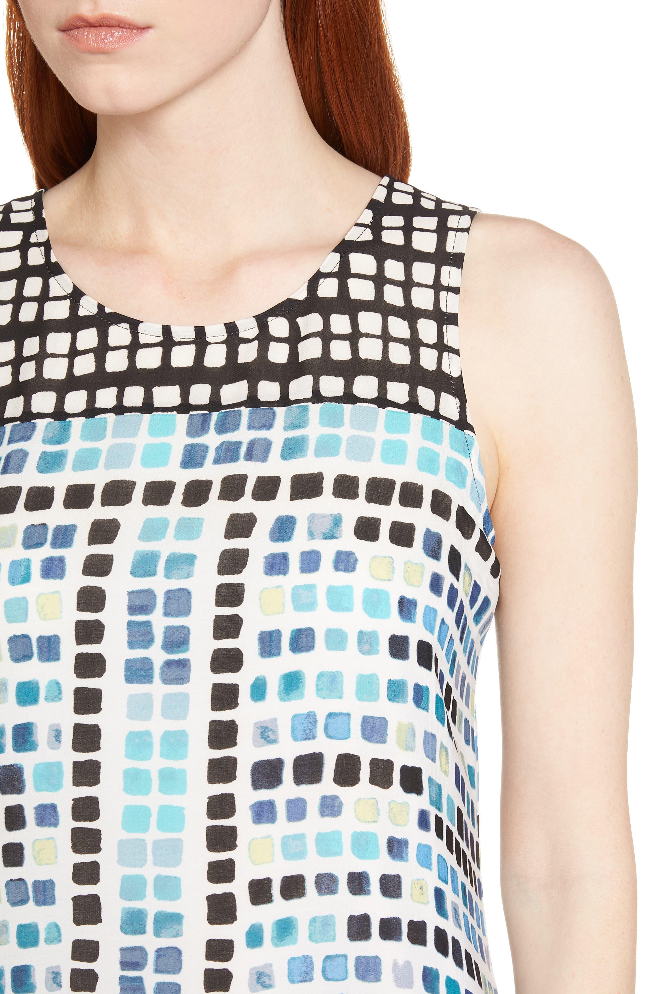 Color Wave Maxi Dress,                             Alternate thumbnail 4, color,