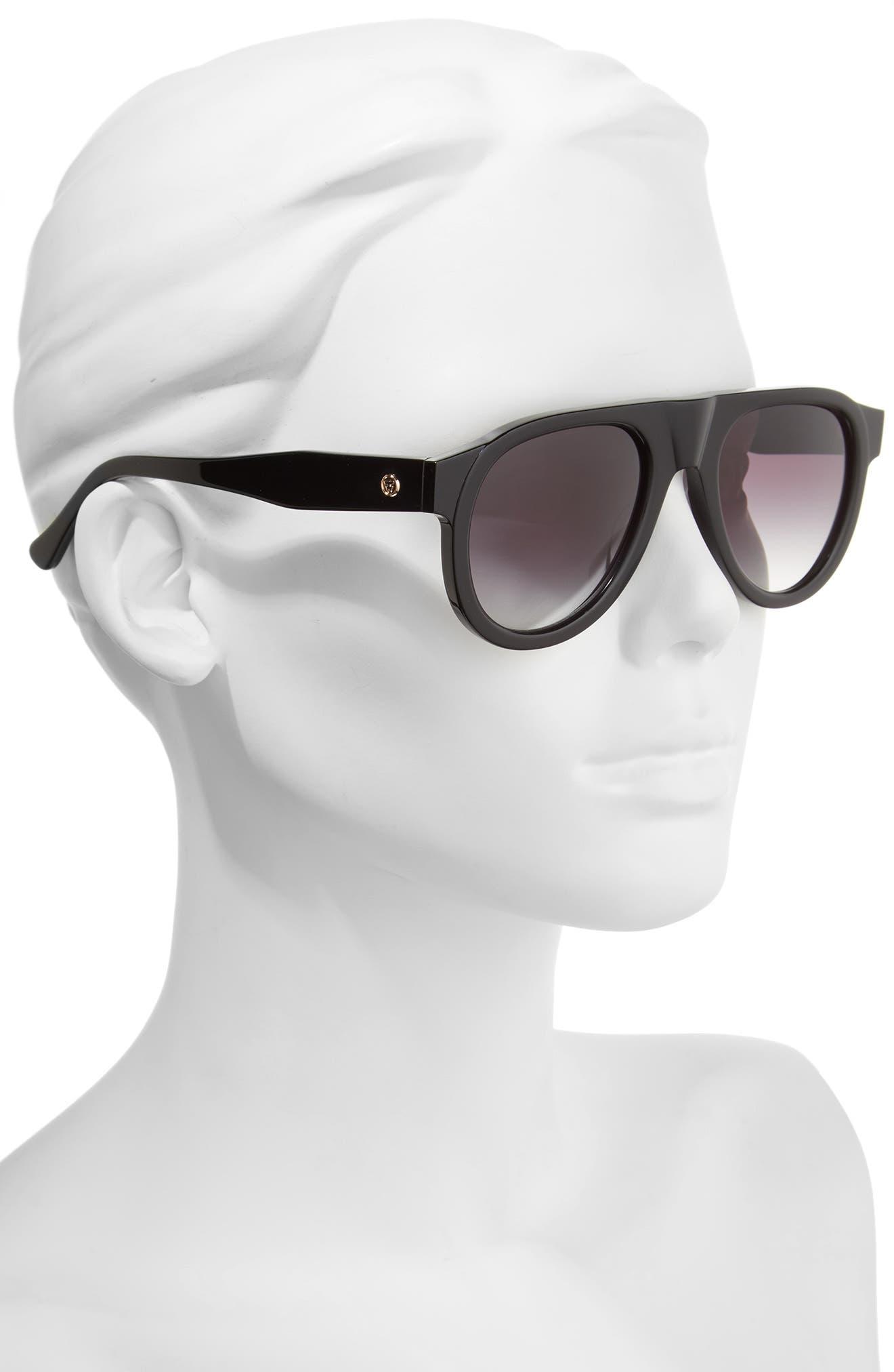 Duke Aviator Sunglasses,                             Alternate thumbnail 2, color,                             001