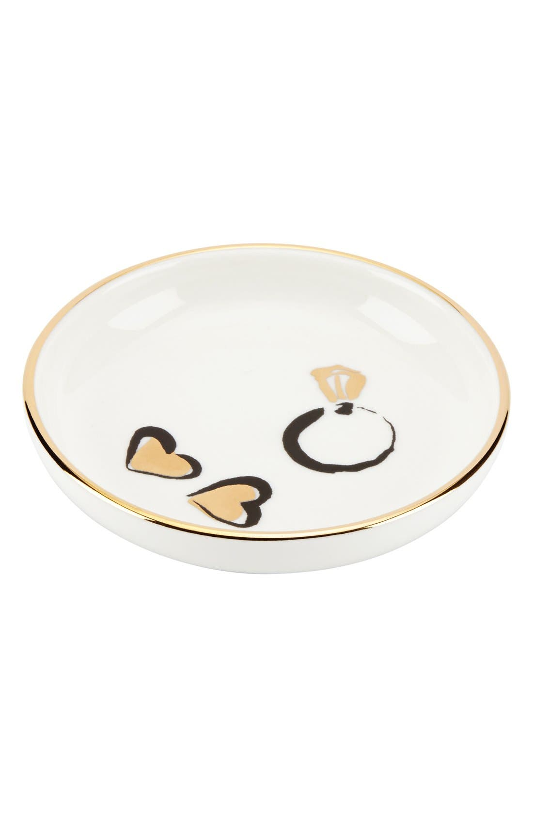 'daisy place' ring dish, Main, color, 100