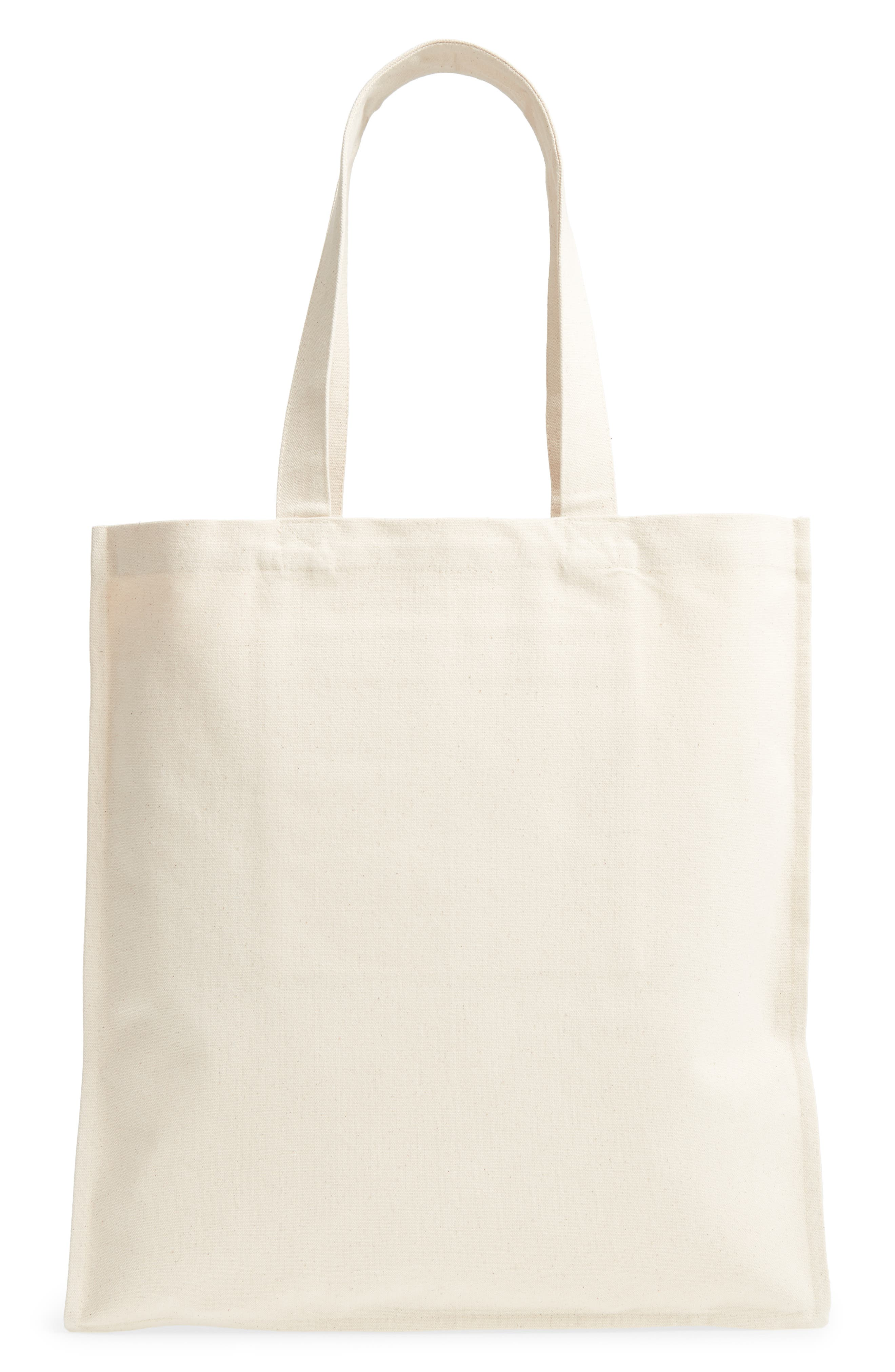 Love is Love Canvas Market Tote,                             Alternate thumbnail 3, color,                             100