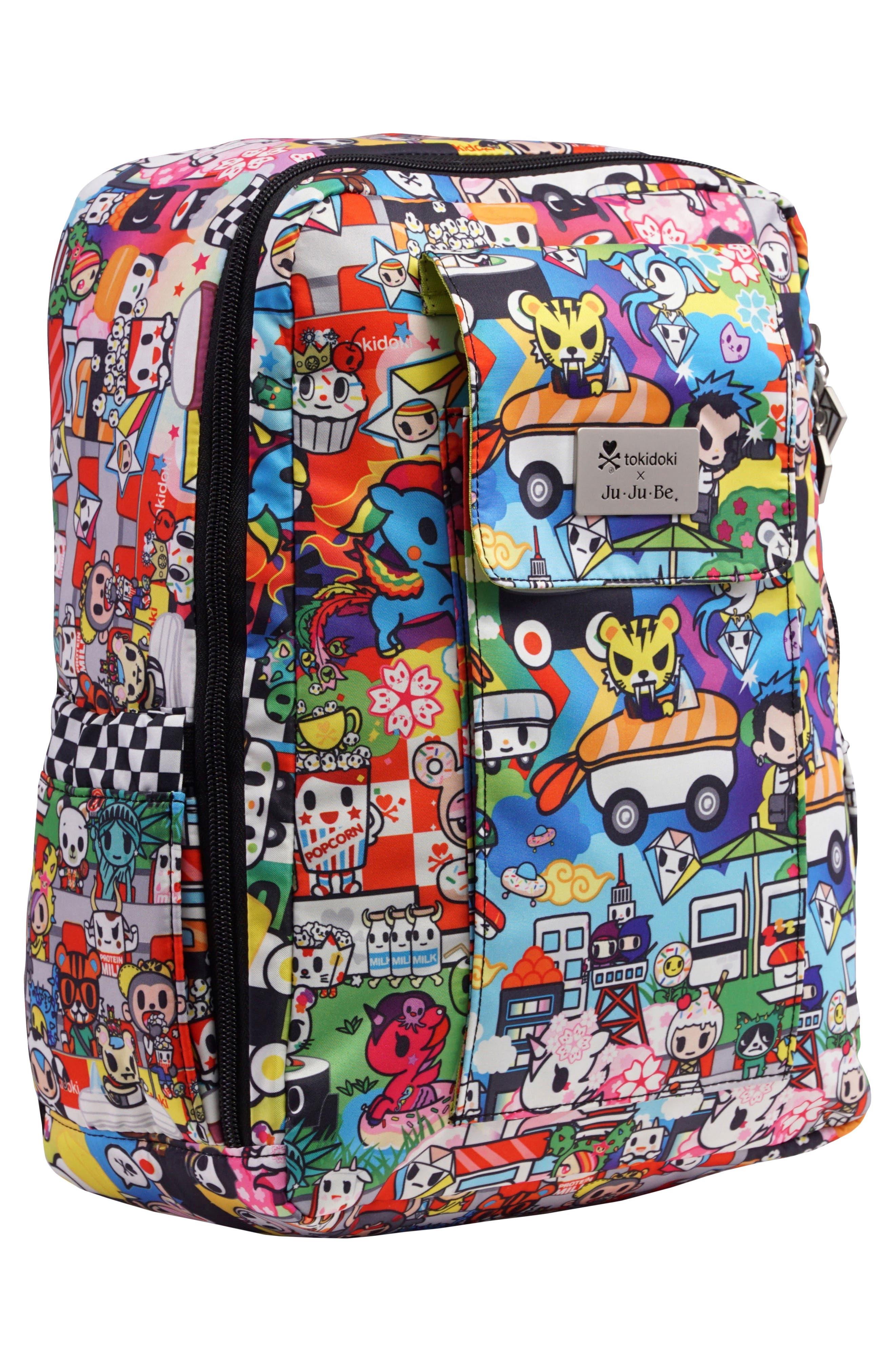 tokidoki x Ju-Ju-Be 'Mini Be' Backpack,                             Alternate thumbnail 4, color,                             SUSHI CARS