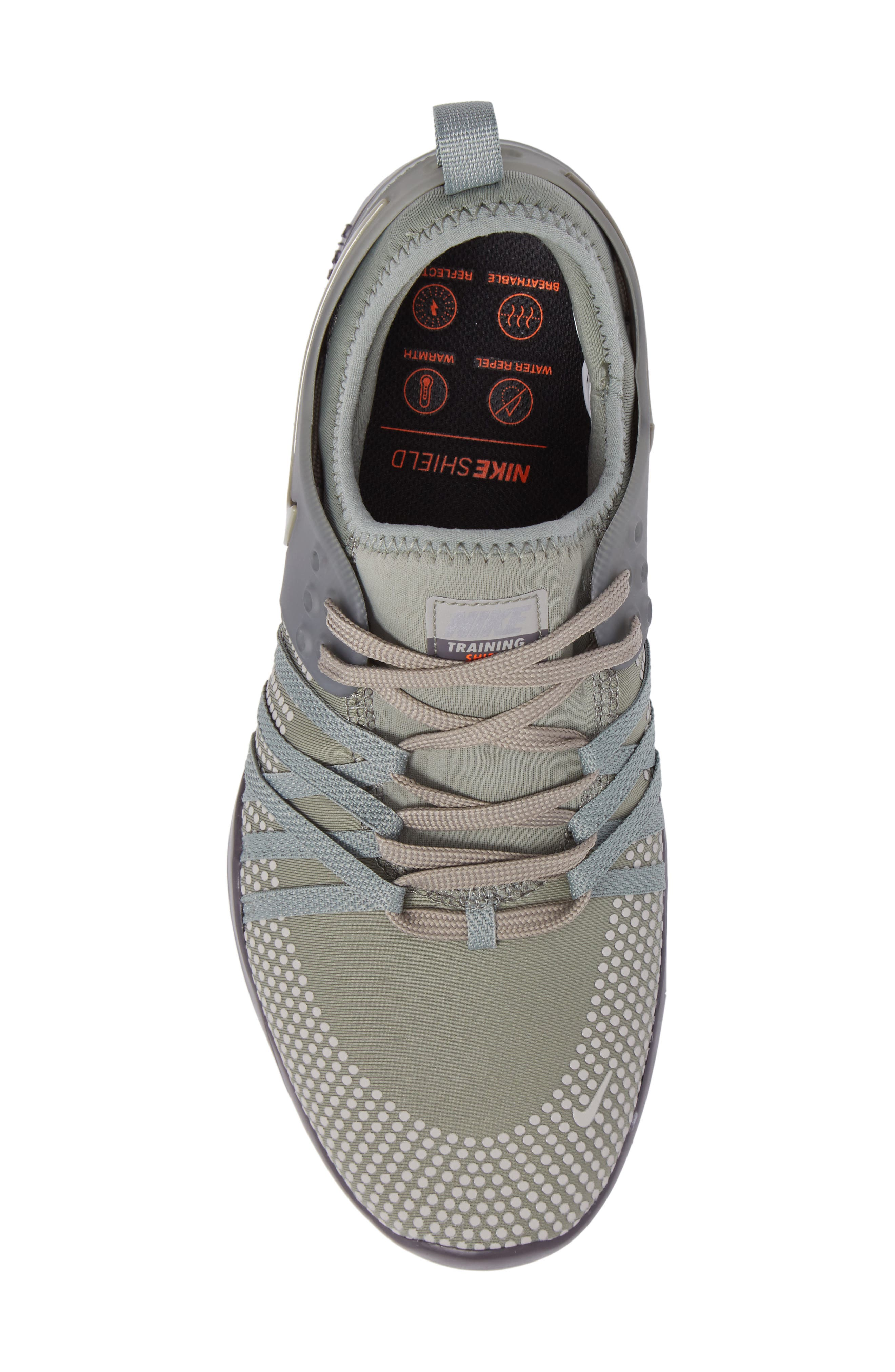 Free TR 7 Shield Water-Repellent Training Shoe,                             Alternate thumbnail 5, color,                             028