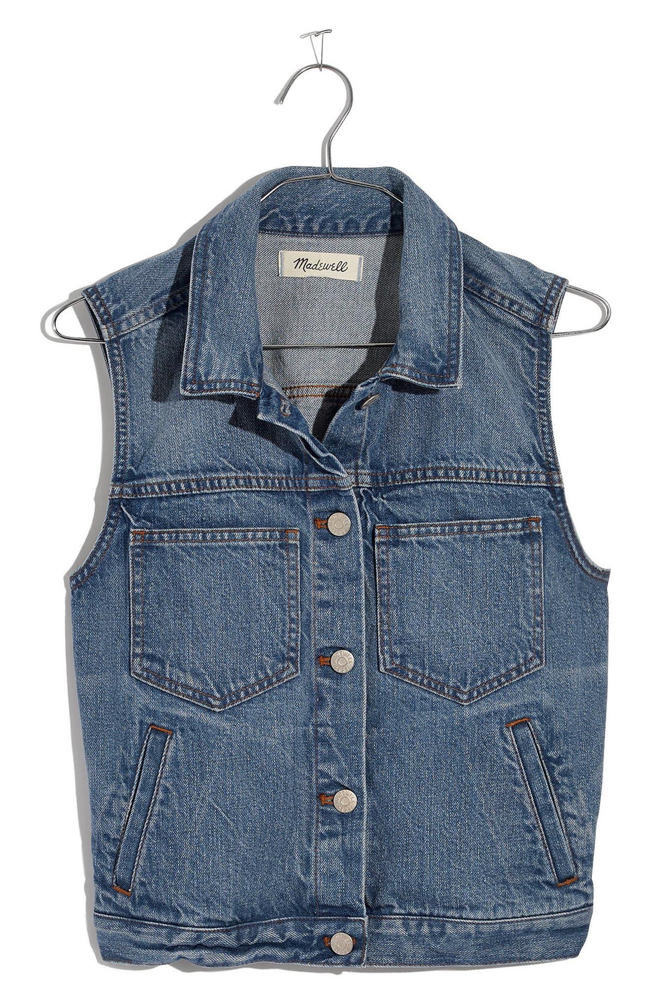 The Jean Vest,                             Alternate thumbnail 3, color,