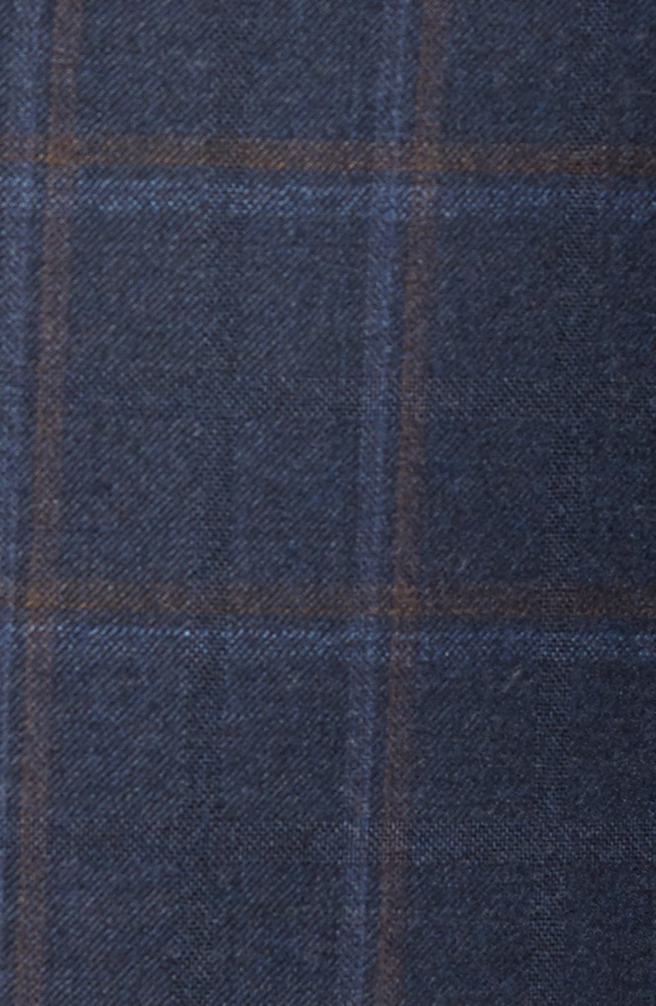Flynn Classic Fit Plaid Wool & Cashmere Sport Coat,                             Alternate thumbnail 6, color,                             410