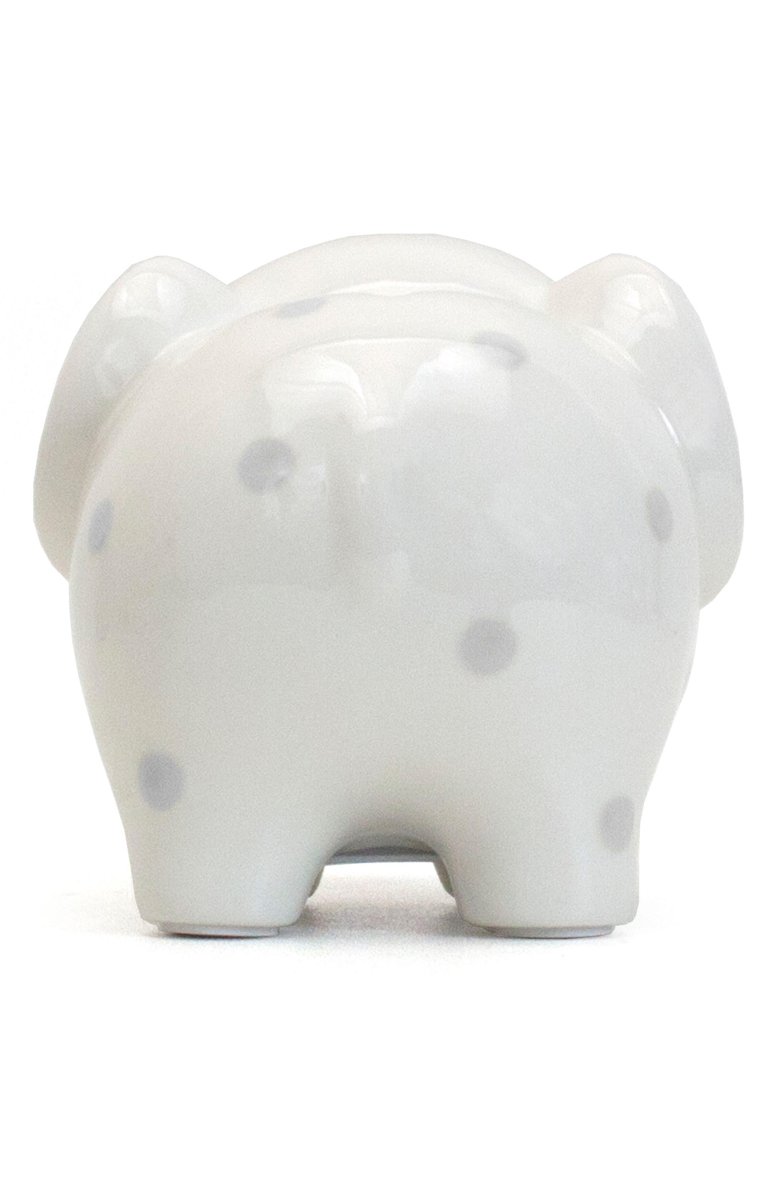 Polka Dot Elephant Bank,                             Alternate thumbnail 3, color,                             020