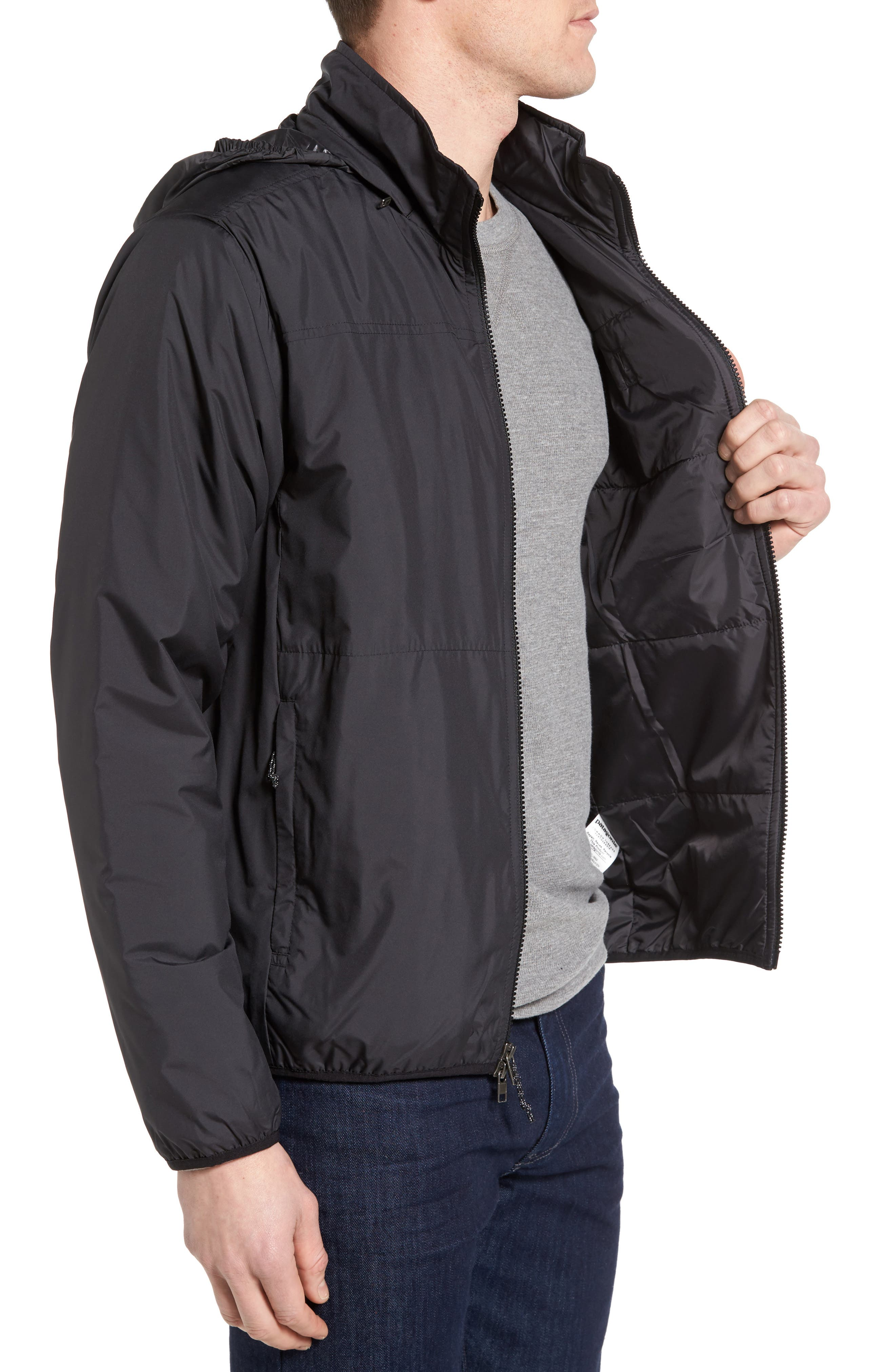 Crankset Regular Fit Jacket,                             Alternate thumbnail 3, color,                             BLACK