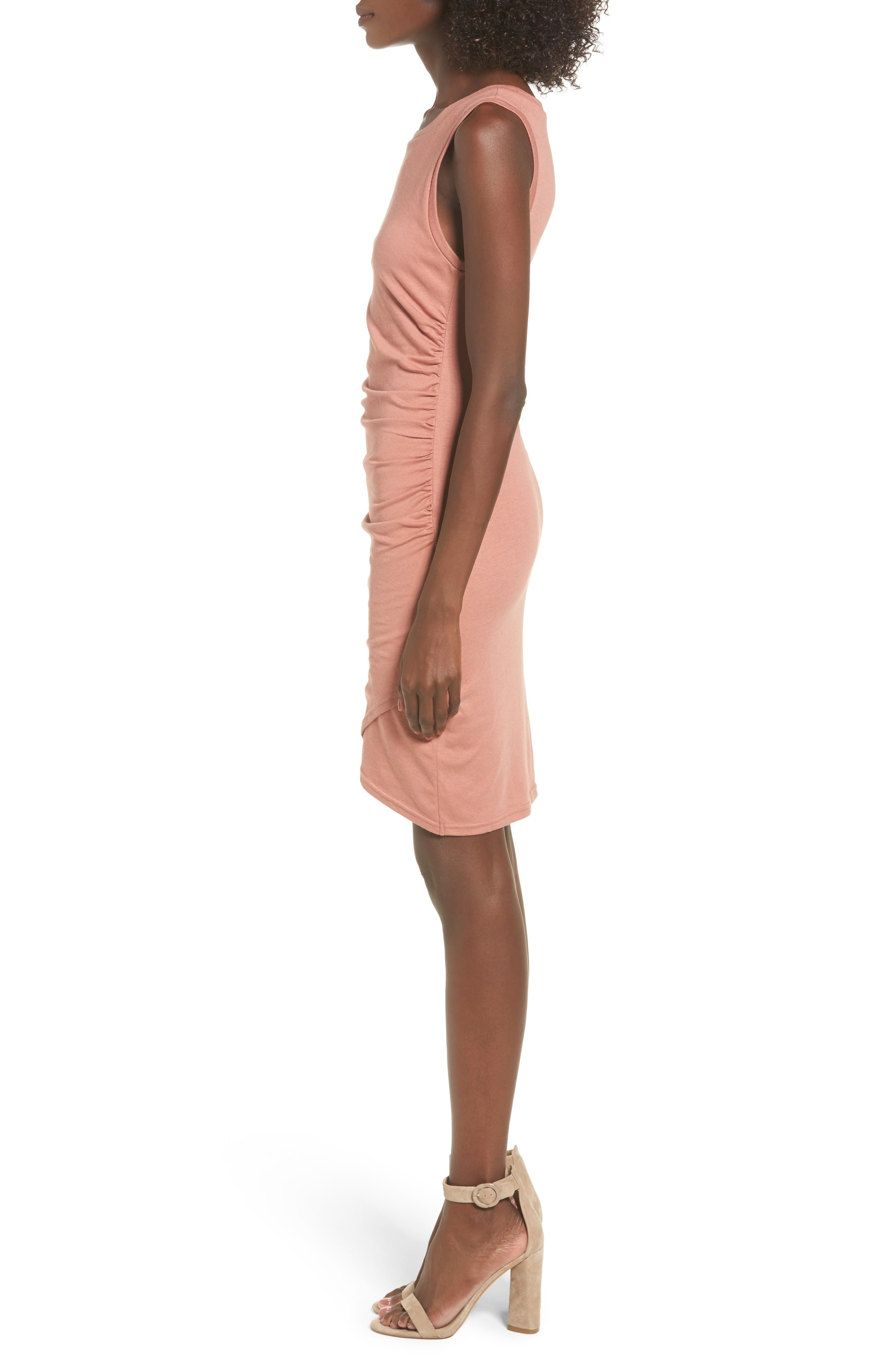 Ruched Body-Con Tank Dress,                             Alternate thumbnail 89, color,